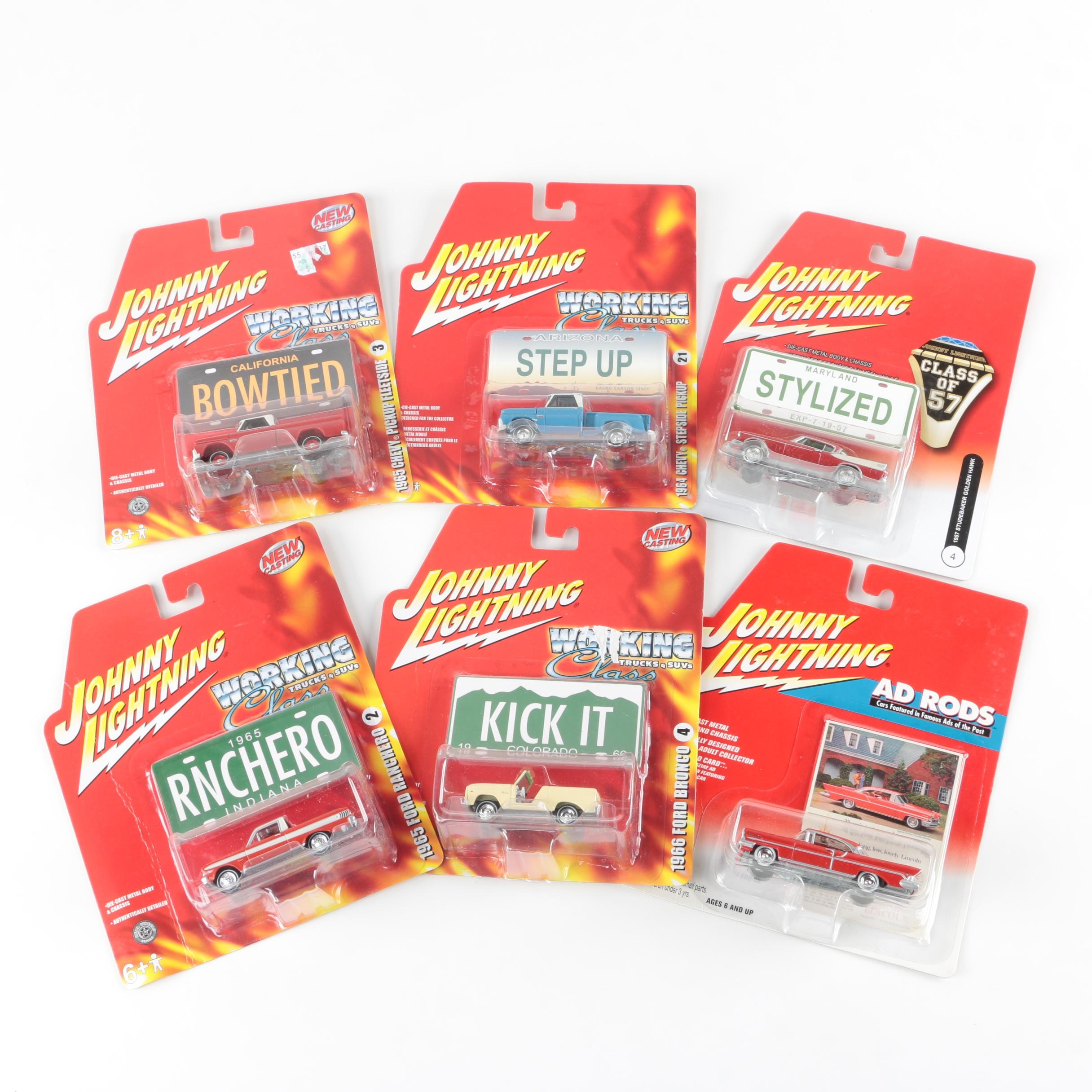 Johnny Lightning Die-Cast Trucks and Cars
