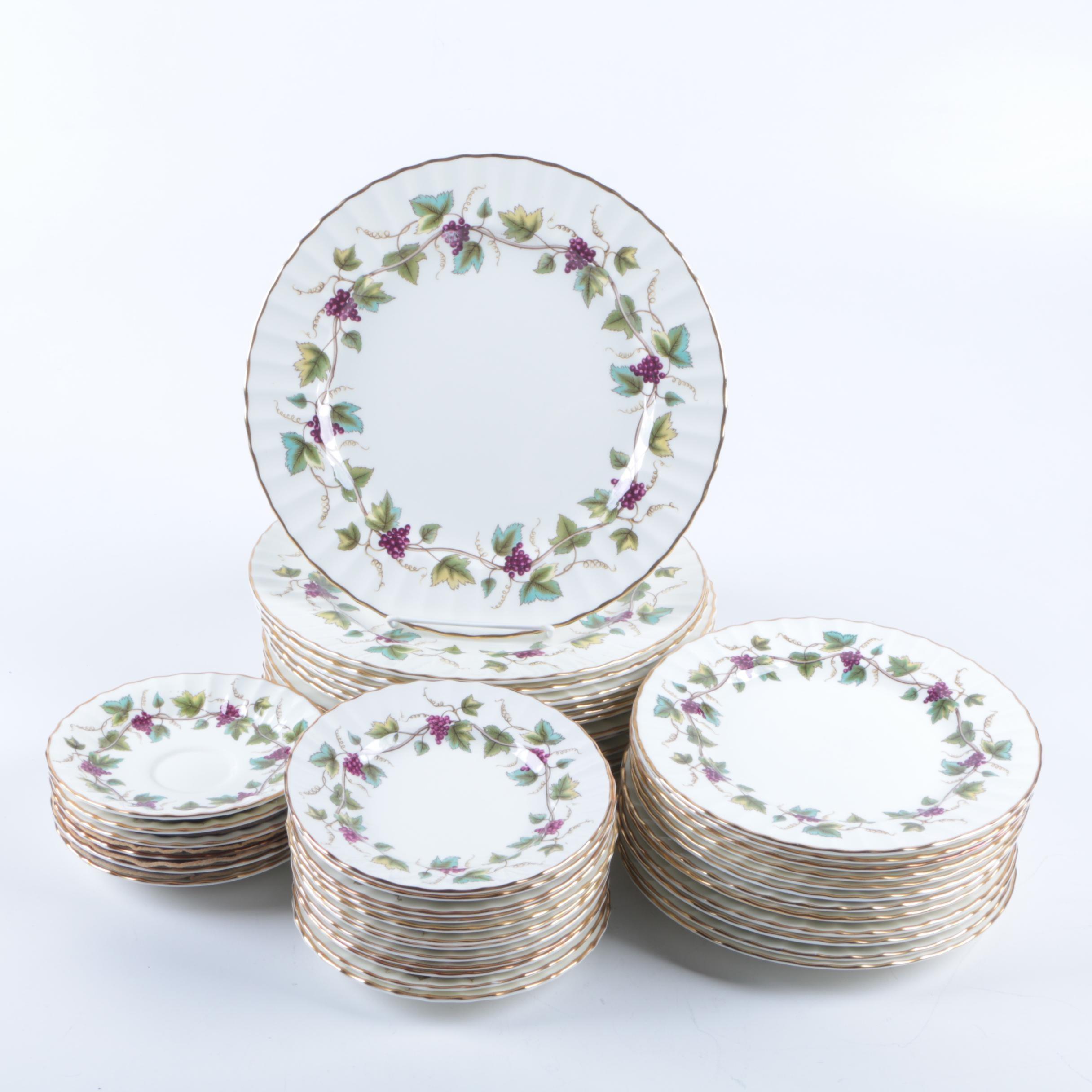 Royal Worcester  Bacchanal  Bone China Tableware ...  sc 1 st  EBTH.com & Royal Worcester