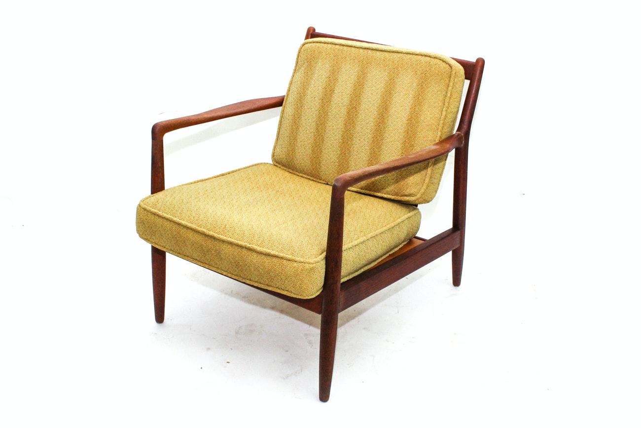Danish Modern Folke Ohlsson Lounge Chair By Dux ...