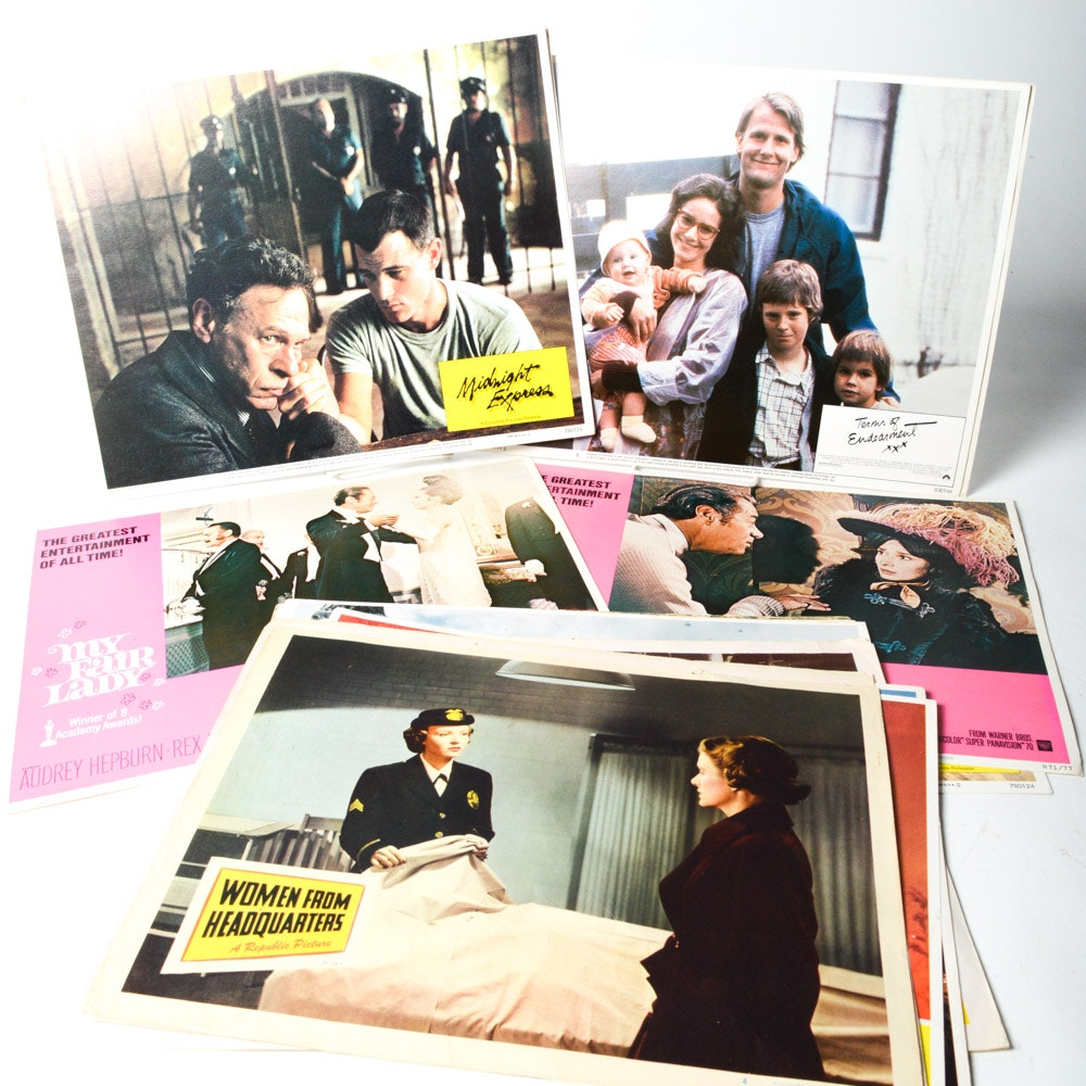 """Vintage Classic Film Lobby Cards Featuring """"My Fair Lady"""""""