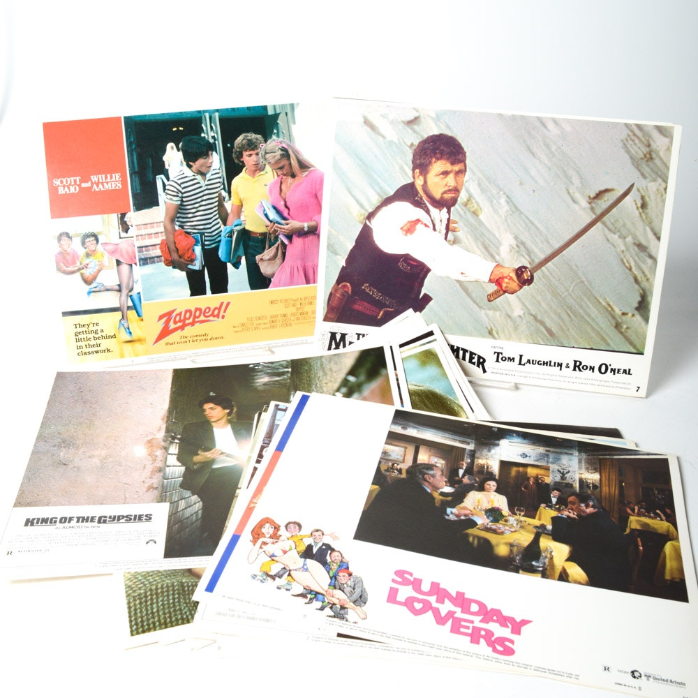Vintage Movie Lobby Cards Featuring Robin Williams