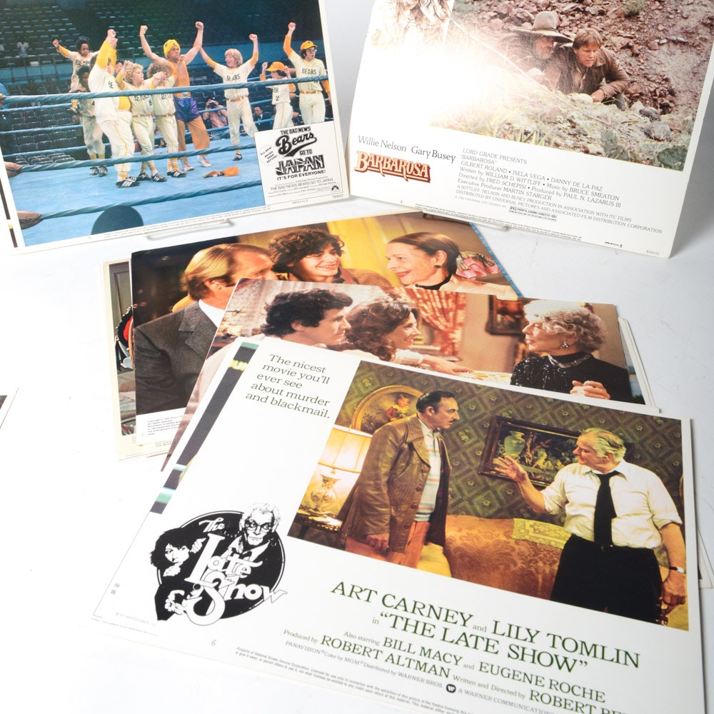 Film Lobby Cards From the 1970s and 1980s
