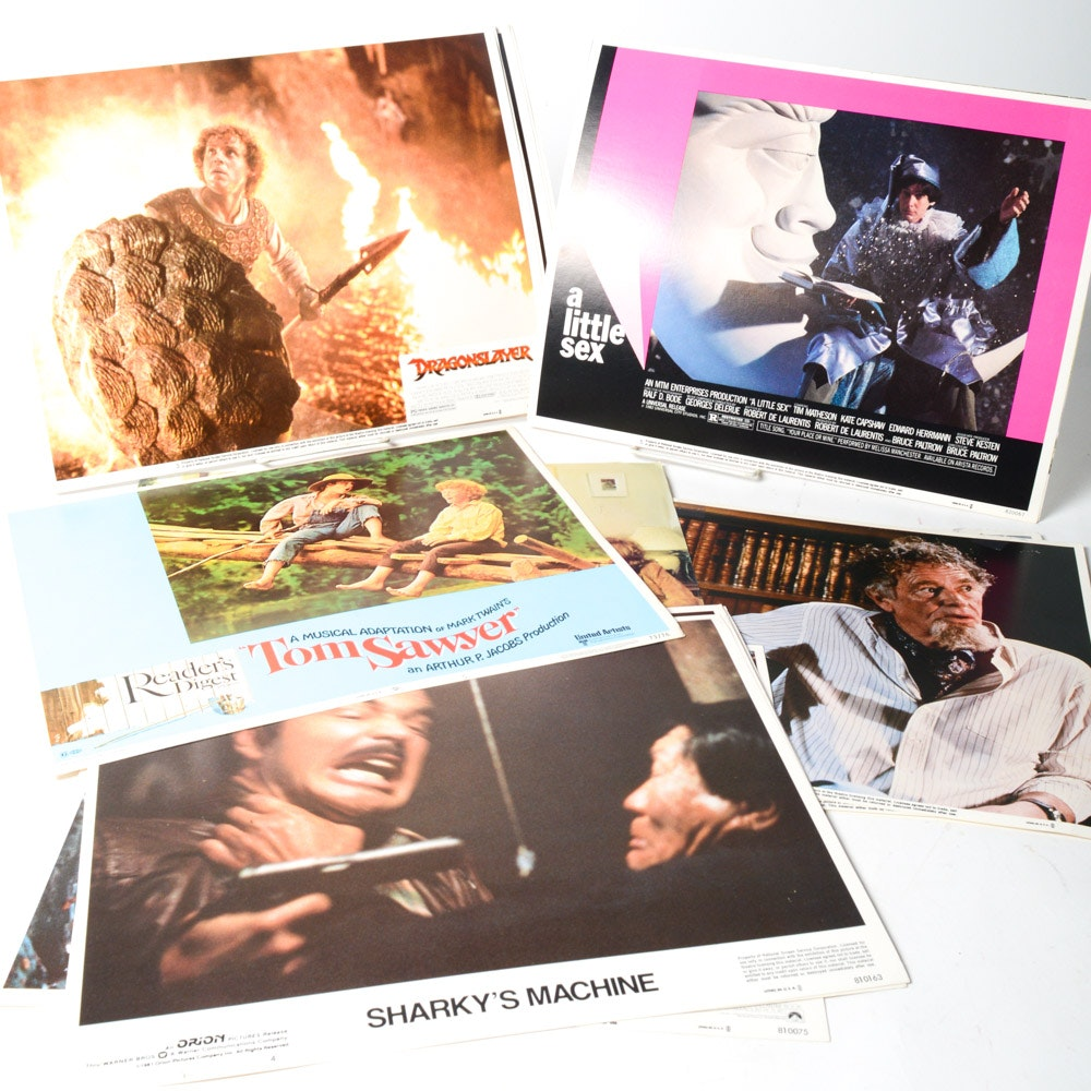 Vintage 70s and 80s Film Lobby Cards