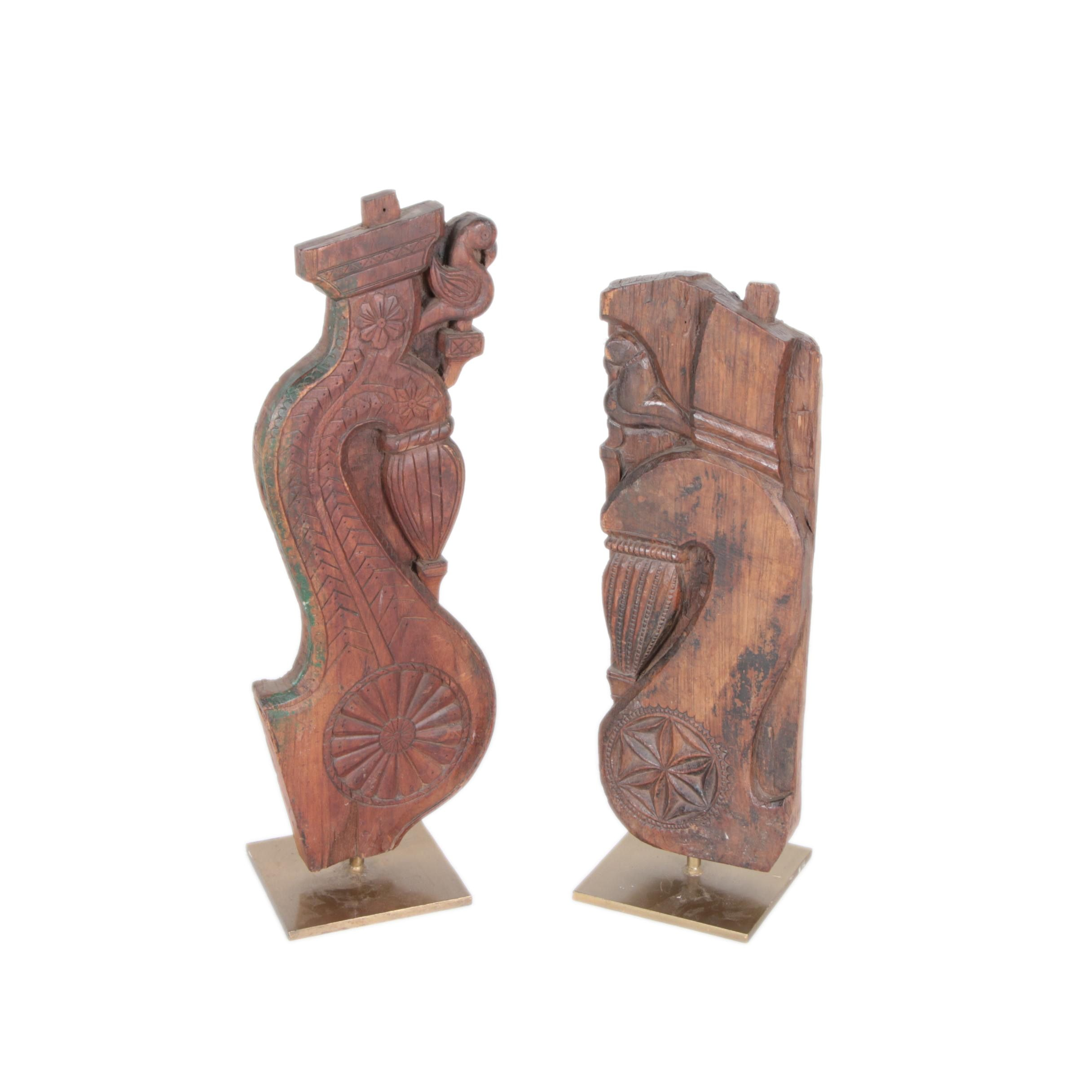 Carved Wooden Architectural Pieces