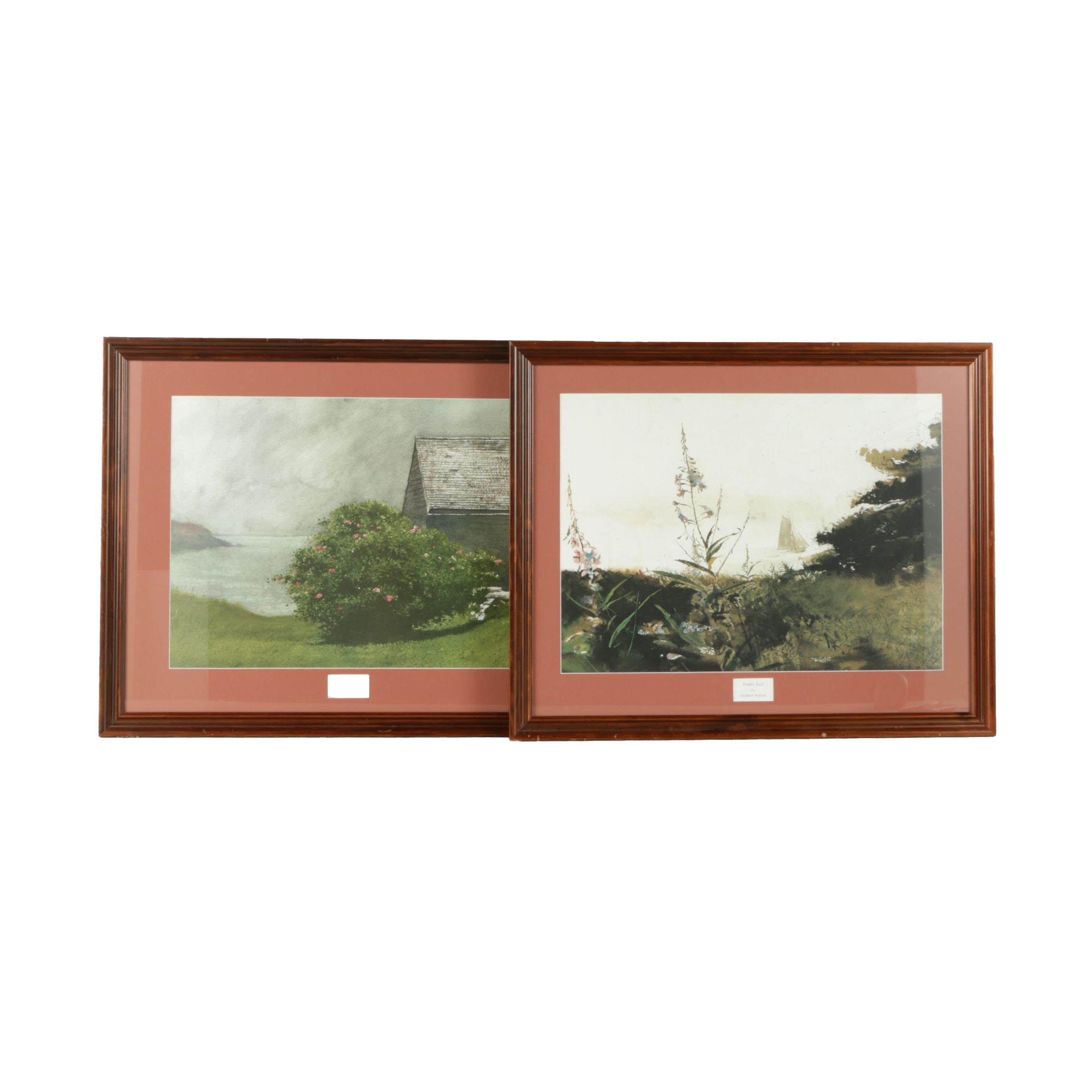 Offset Lithographs After James and Andrew Wyeth