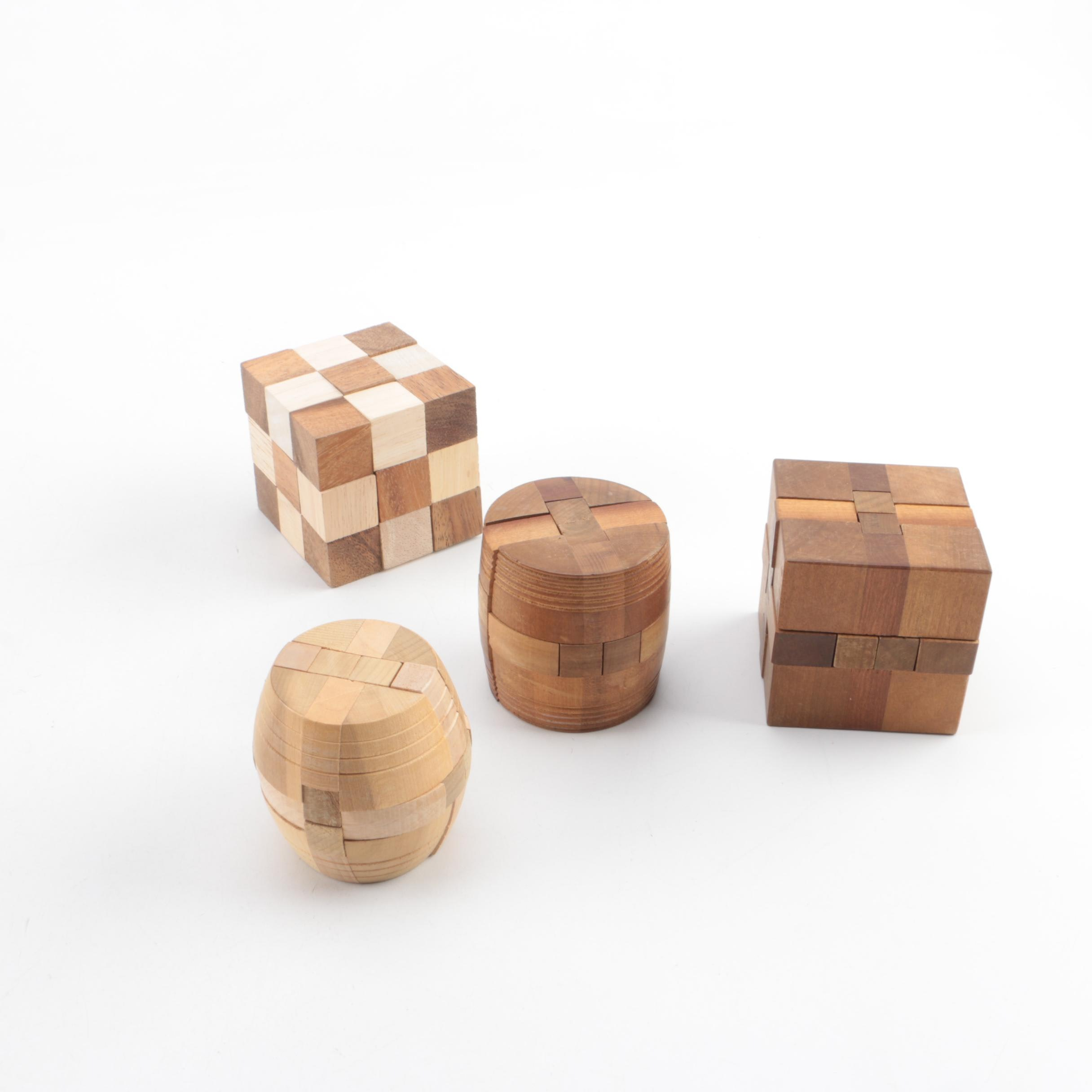 how to solve wooden puzzle blocks