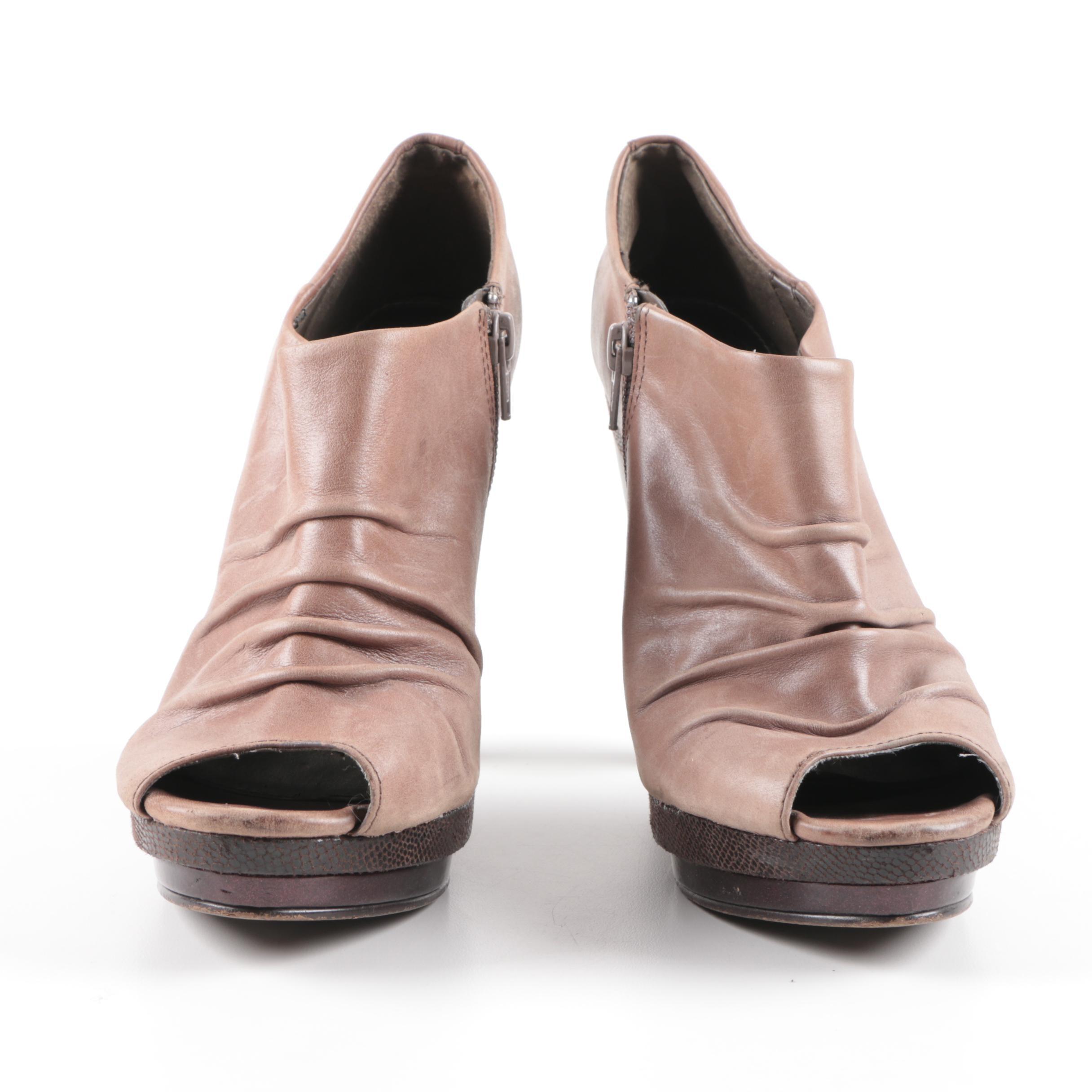 Fergie Turbulent Leather High Heels