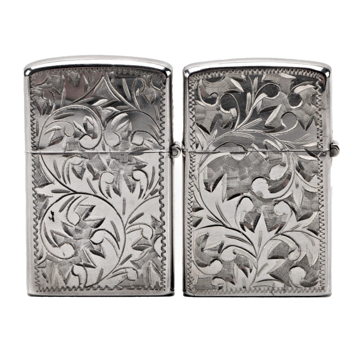 Engraved Sterling Silver Lighters