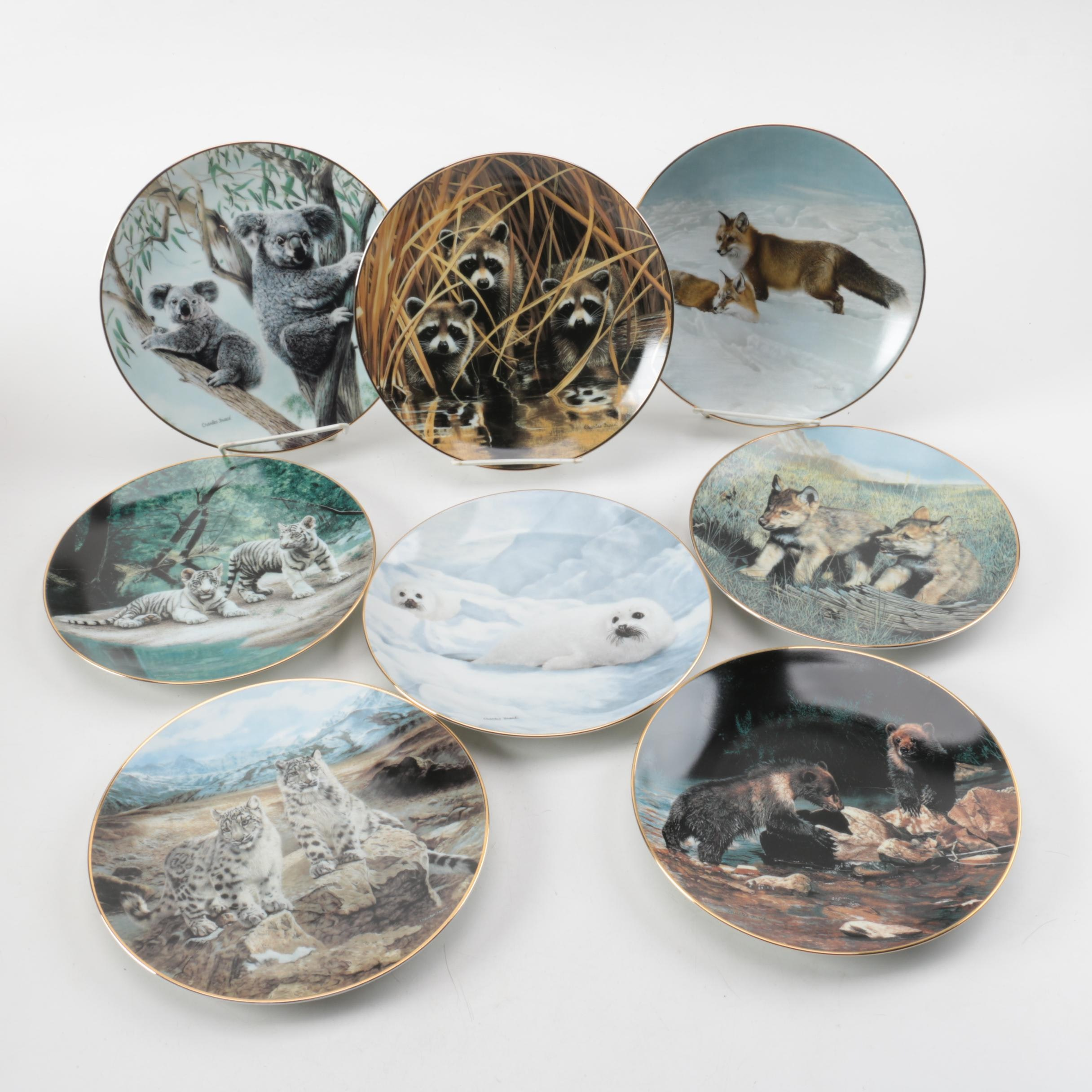 """W. S. George """"Nature's Playmates"""" Dishes with Charles Fracé Illustrations"""