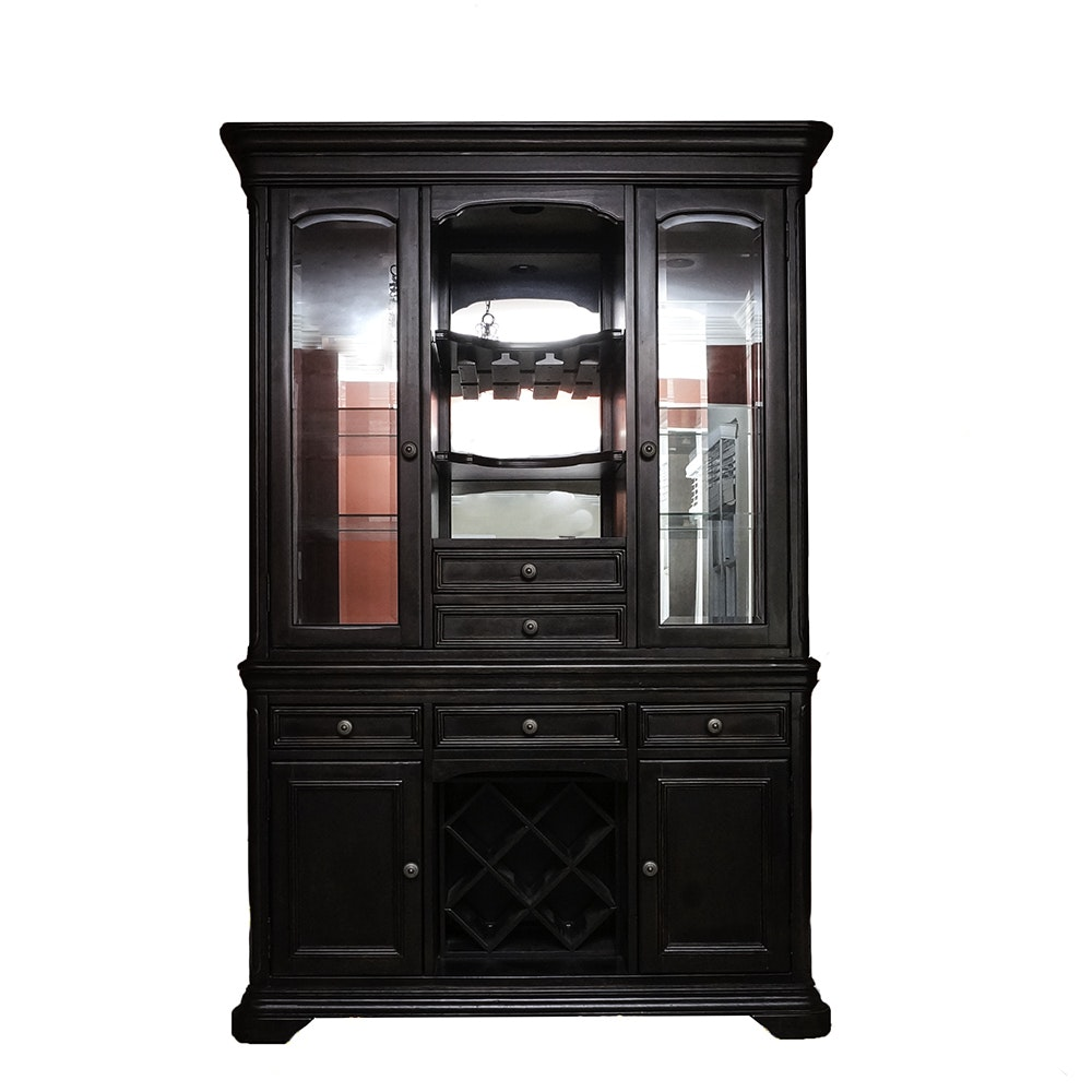 Illuminated Wine Cabinet by Magnussen Home