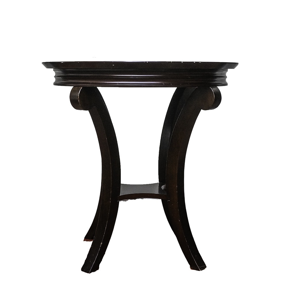 Superbe Contemporary Side Table By The Bombay Company ...