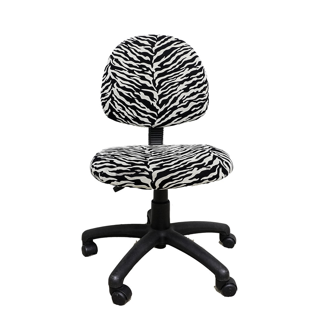 Contemporary Upholstered Desk Chair