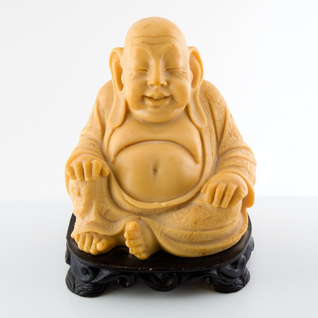 Carved Budai Sculpture