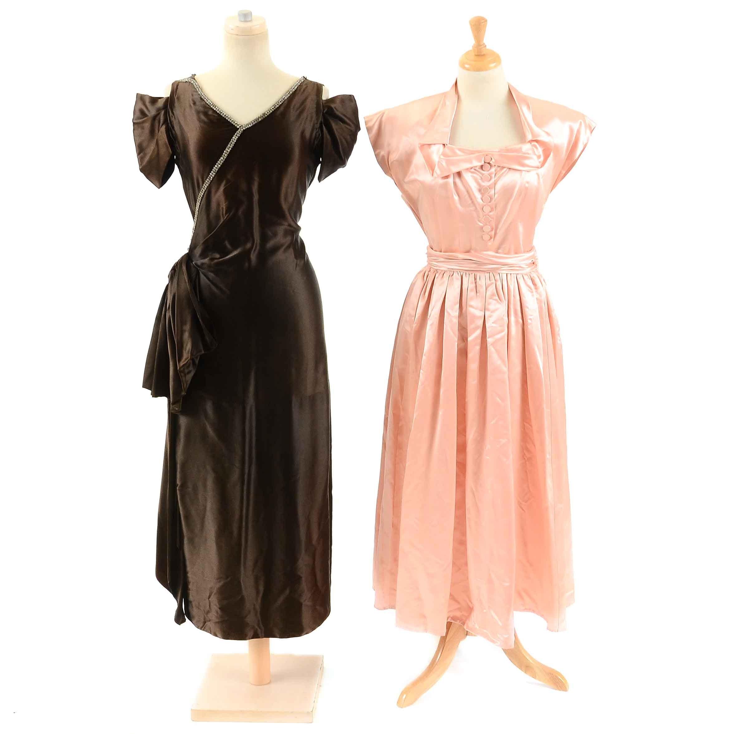 Women's 1950s Evening Dresses