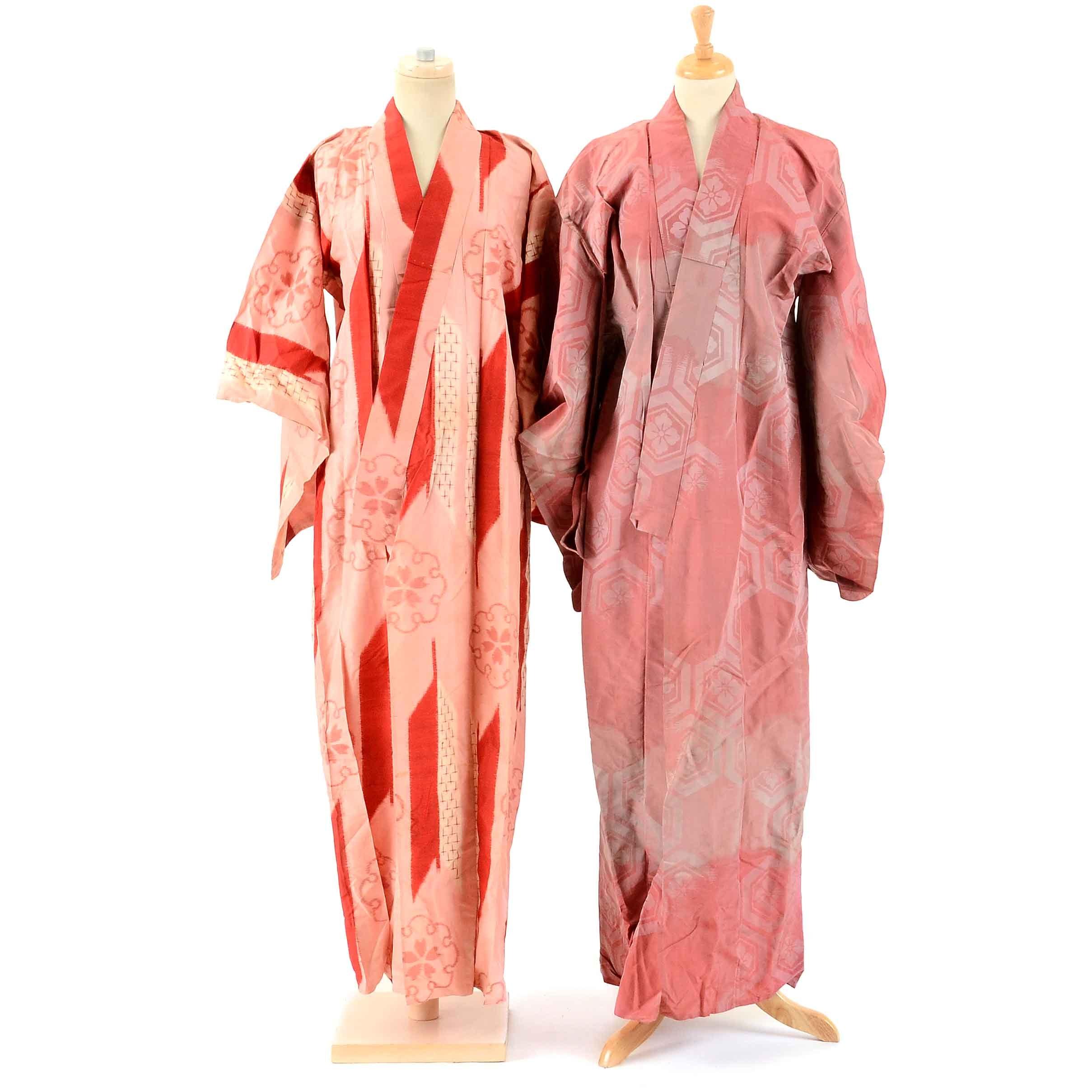 Vintage Japanese Kimonos