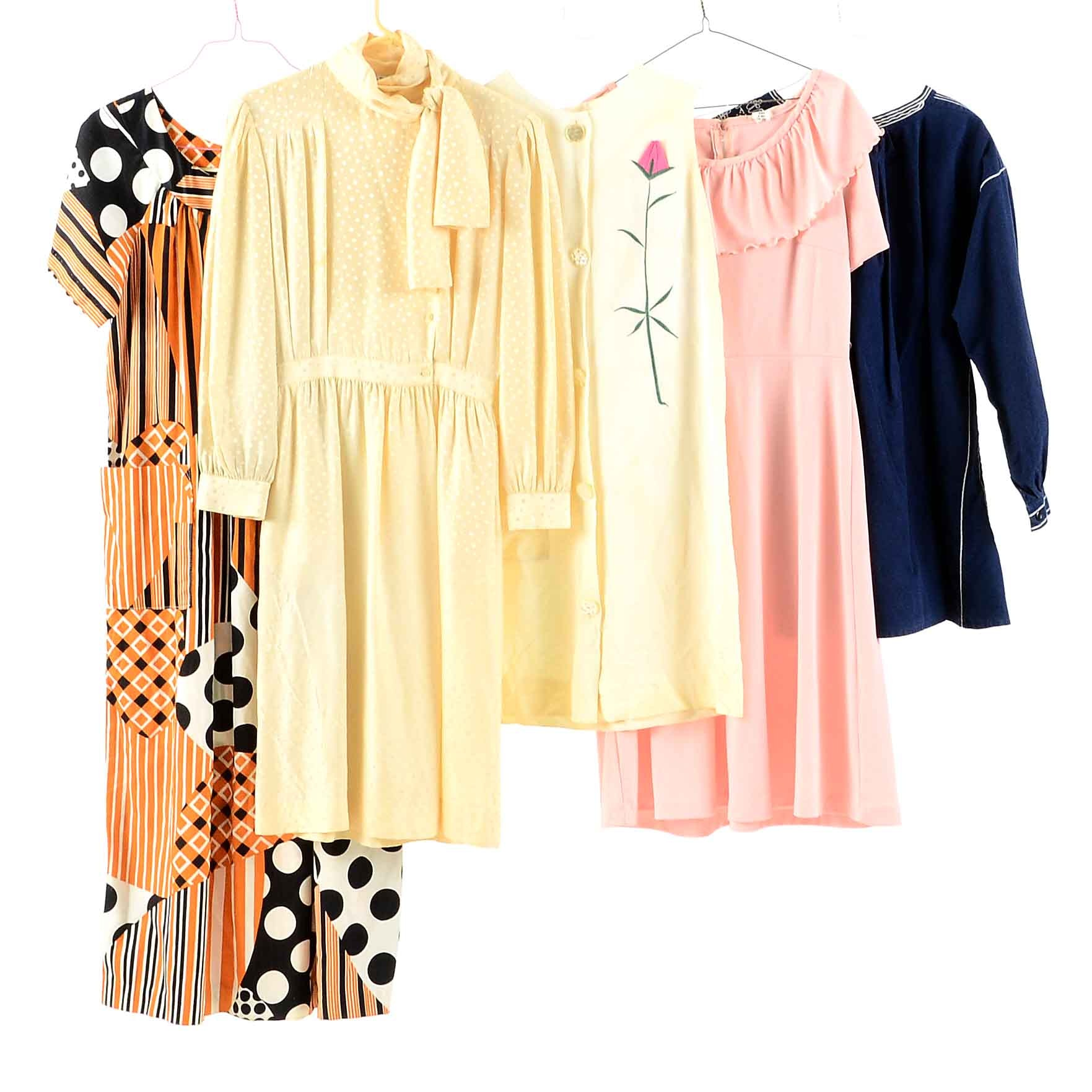 Women's Vintage Circa 1970s Dresses