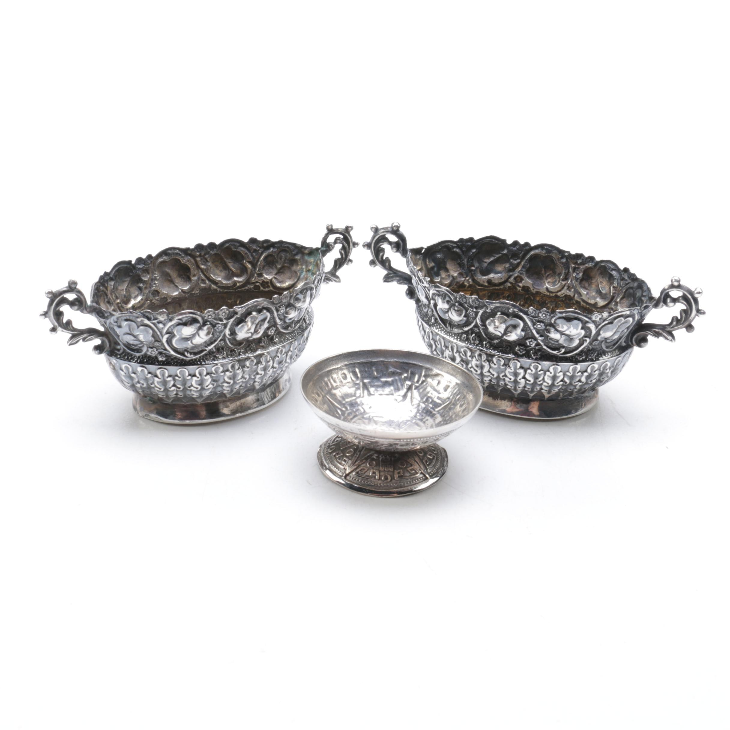 Sterling Silver Tableware Featuring William Vale & Sons