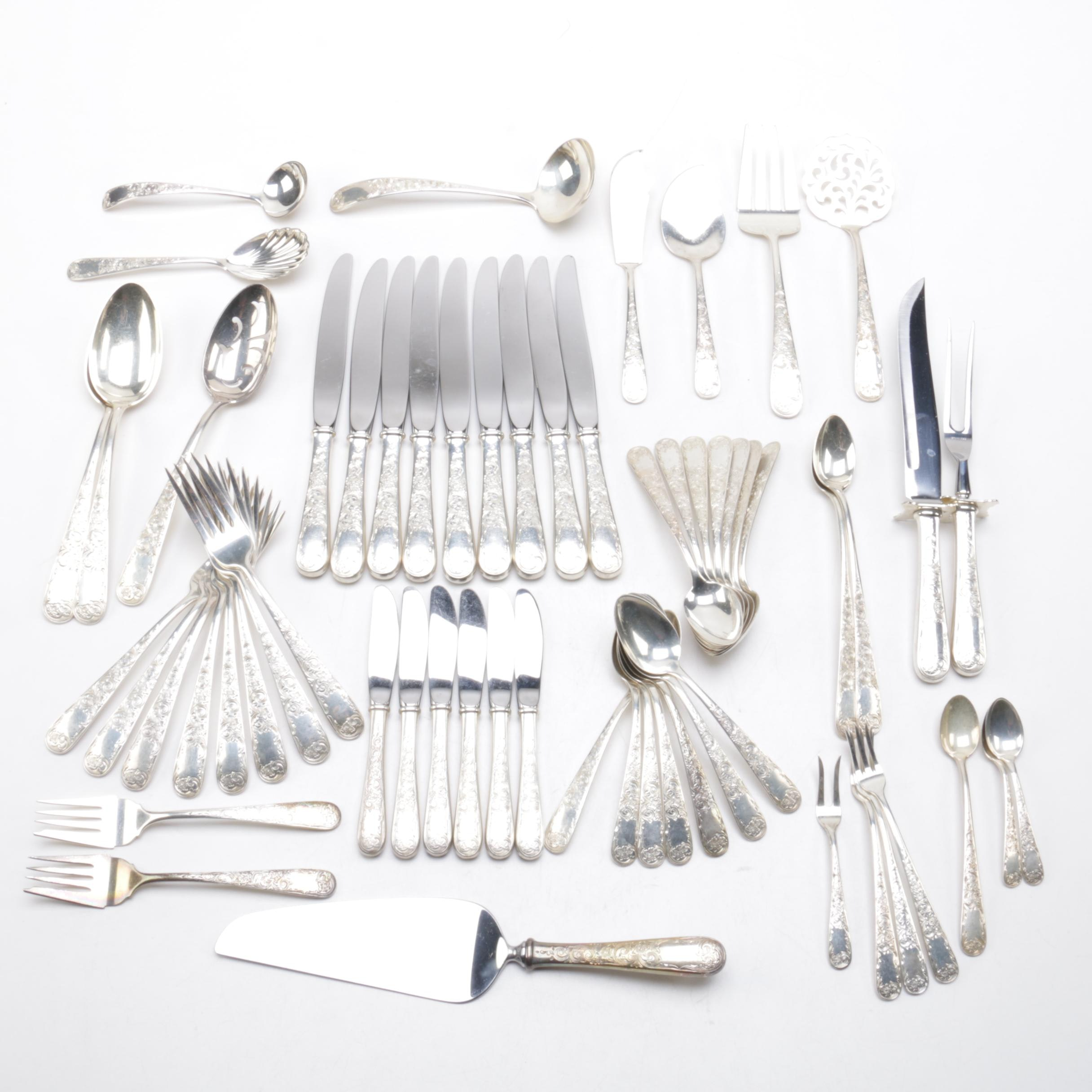 """S. Kirk & Son """"Old Maryland Eng"""" Sterling Silver Flatware"""