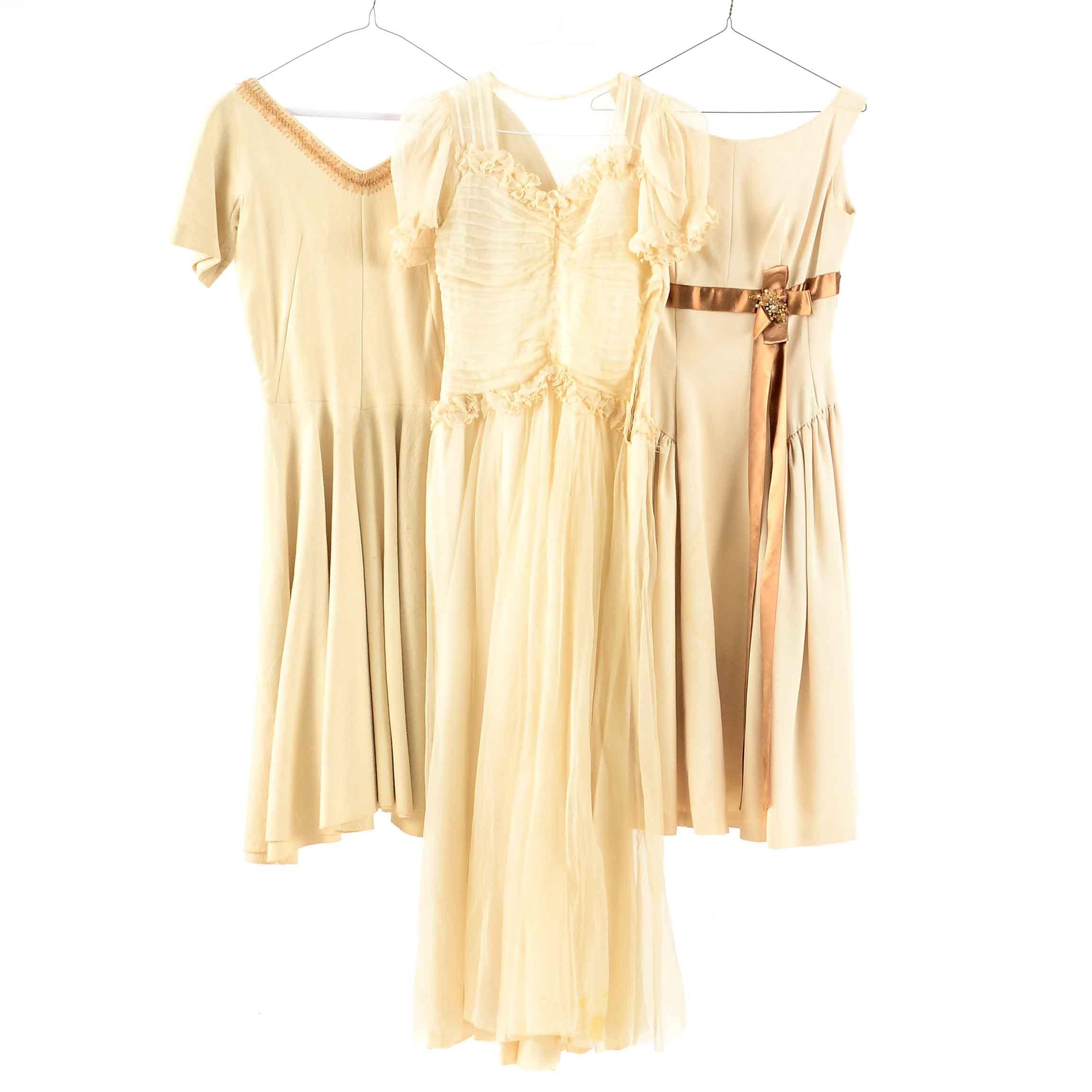 Collection of Vintage Formal Dresses