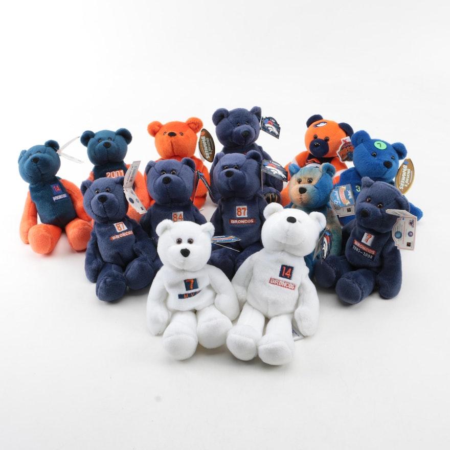 Denver Broncos Stuffed Bears Ebth