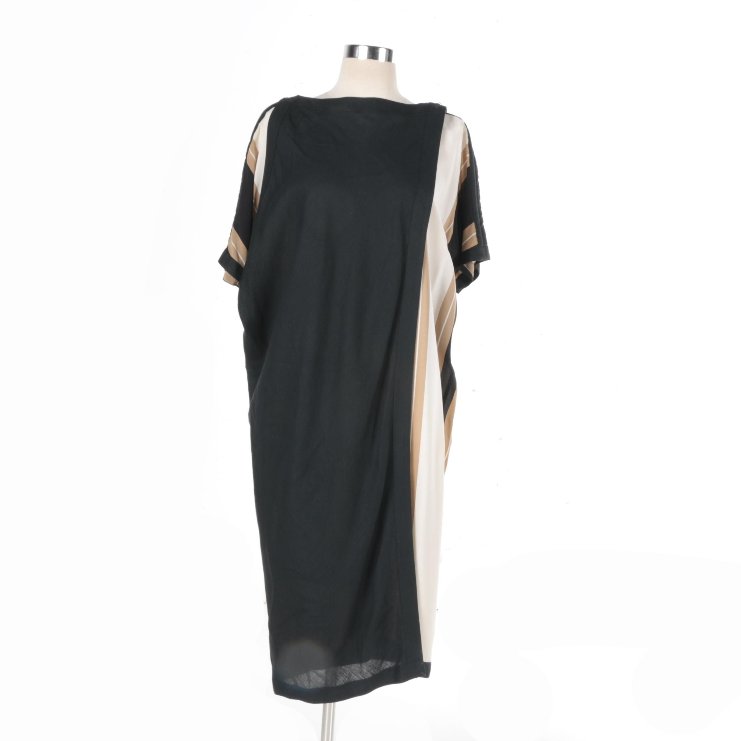 1970s-1980s Vintage Gianni Versace Silk Dress