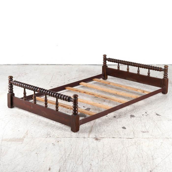 Vintage Twin Trundle Bed Frame