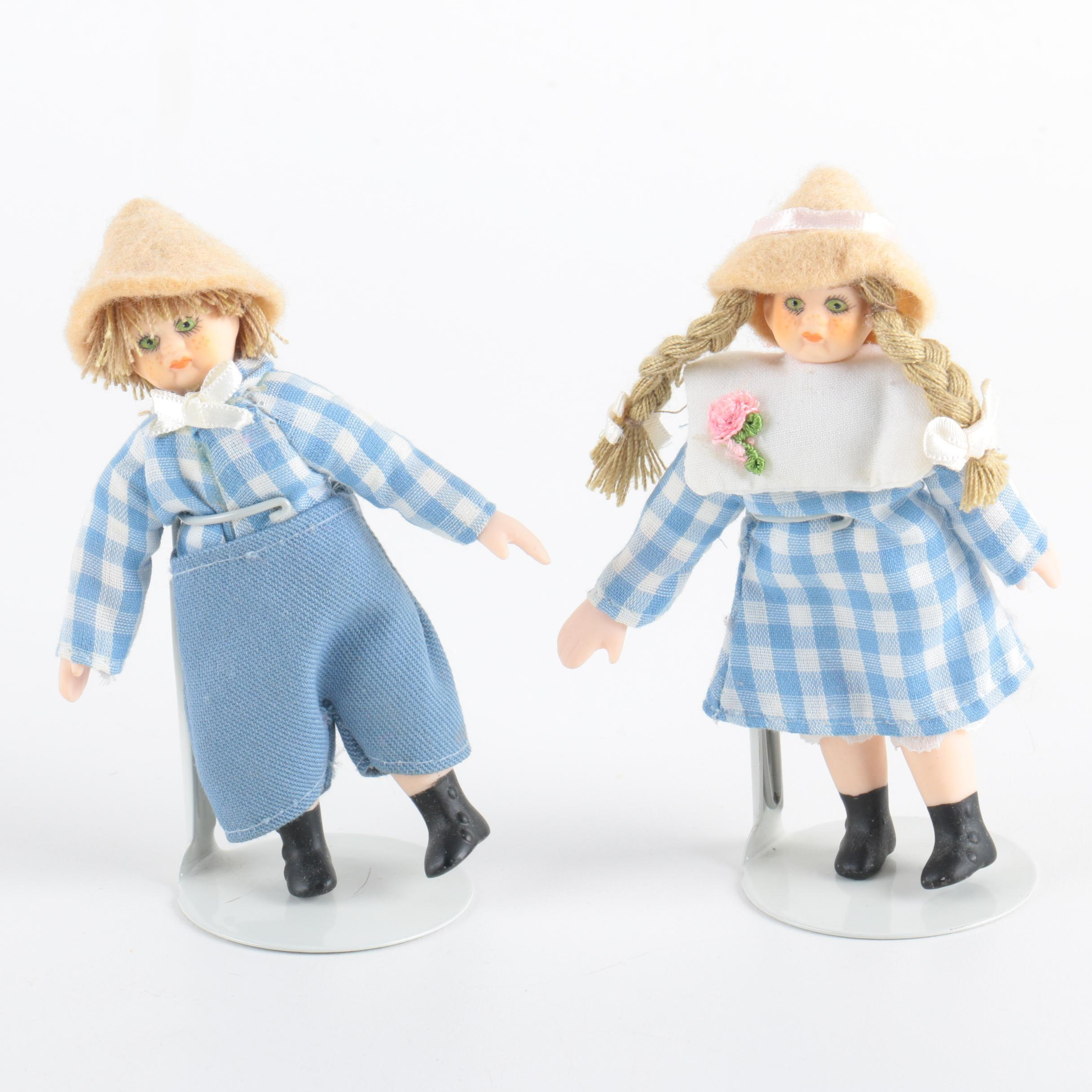 Dolls on Stands