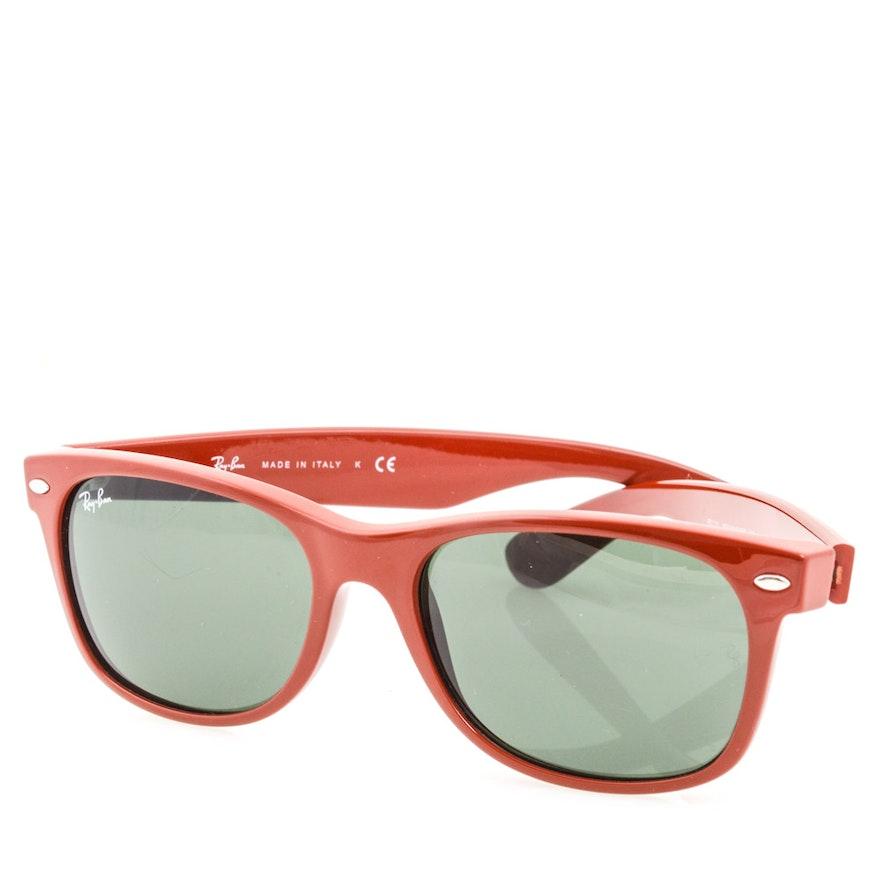 22e24033fc Ray-Ban for Alain Afflelou New Wayfarer Sunglasses   EBTH
