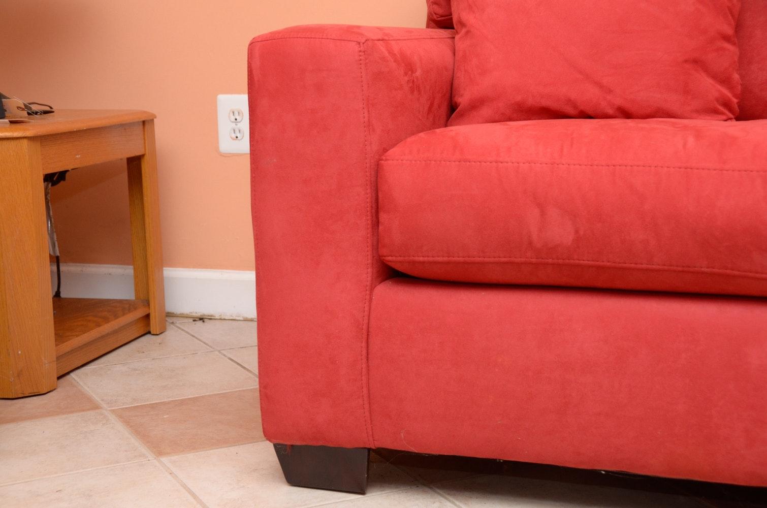 Upholstered Sleeper Sofa Ebth