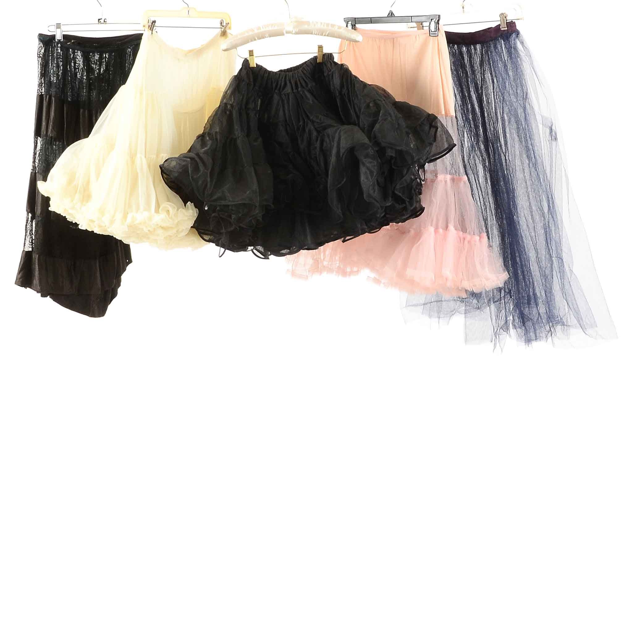 Collection of Vintage Petticoats