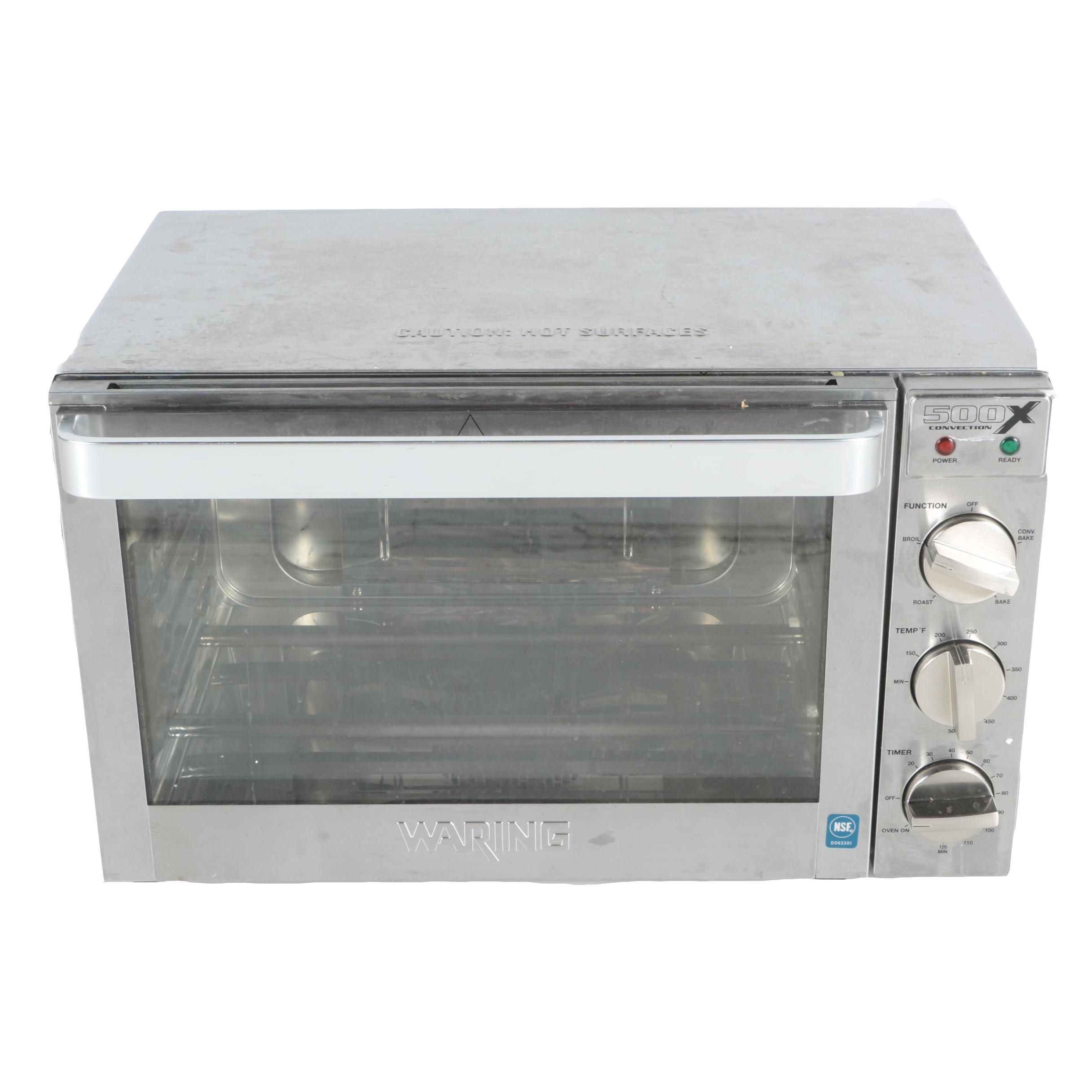 Waring WCO500X Half Size Countertop Convection Oven