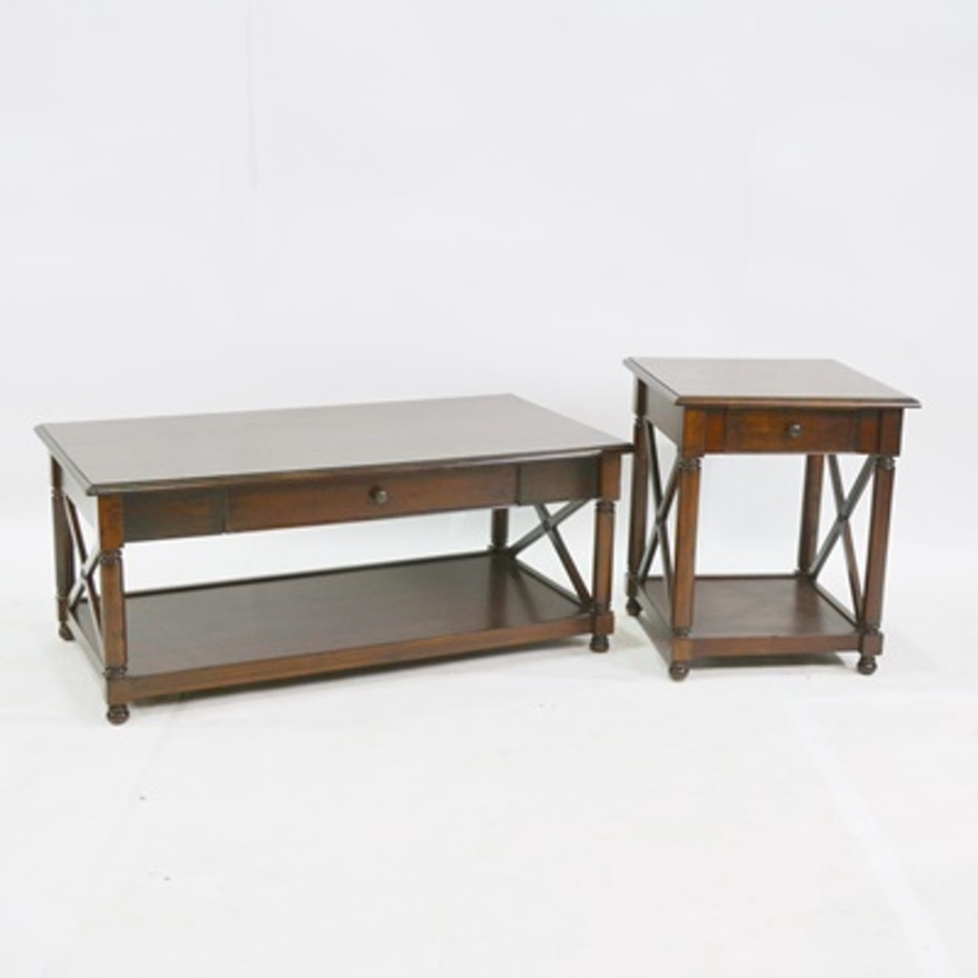 Pier 1 Imports Coffee Table and End Table | EBTH