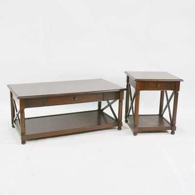 Pier 1 Imports Coffee Table And End Table ...