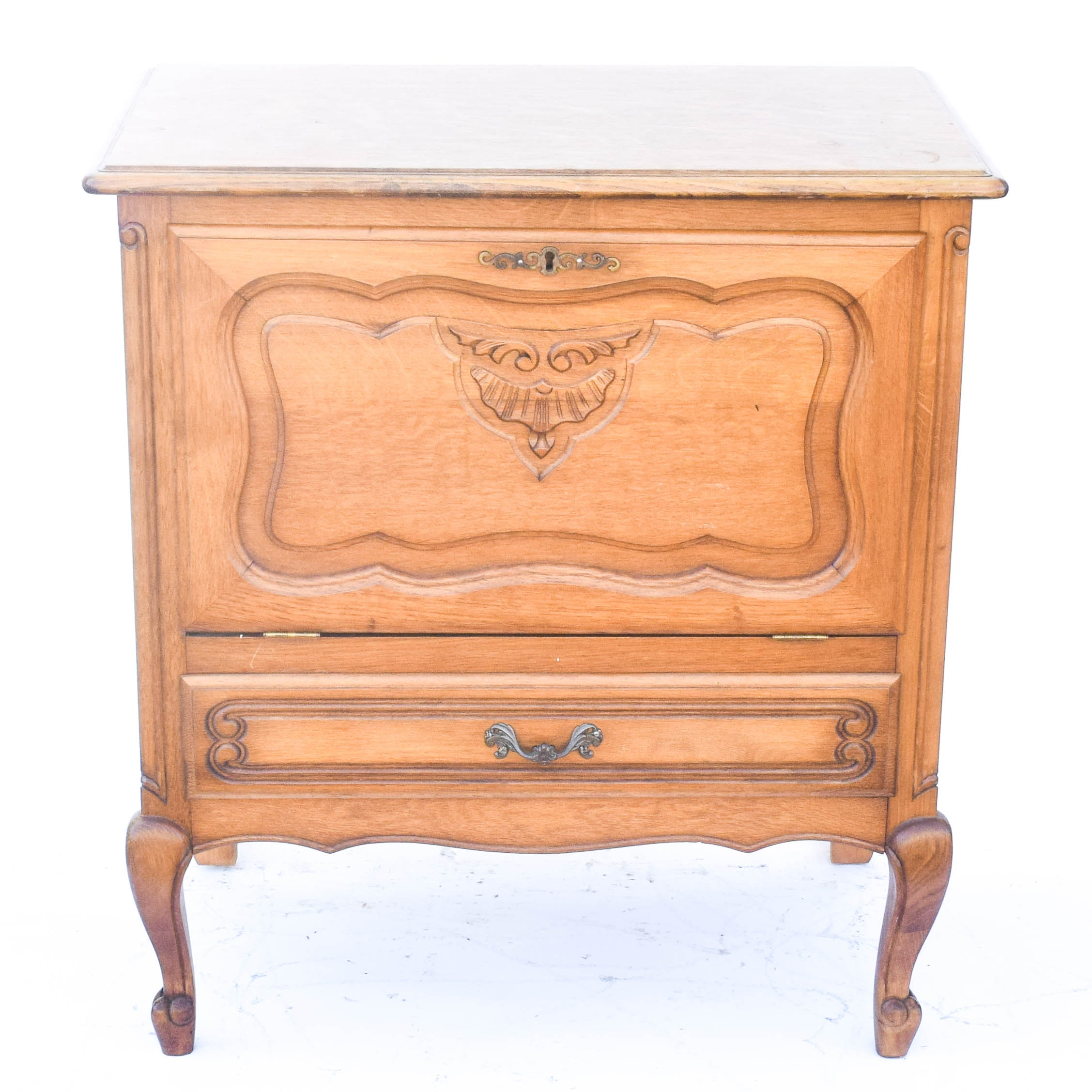 French Provincial Style Bar Cabinet