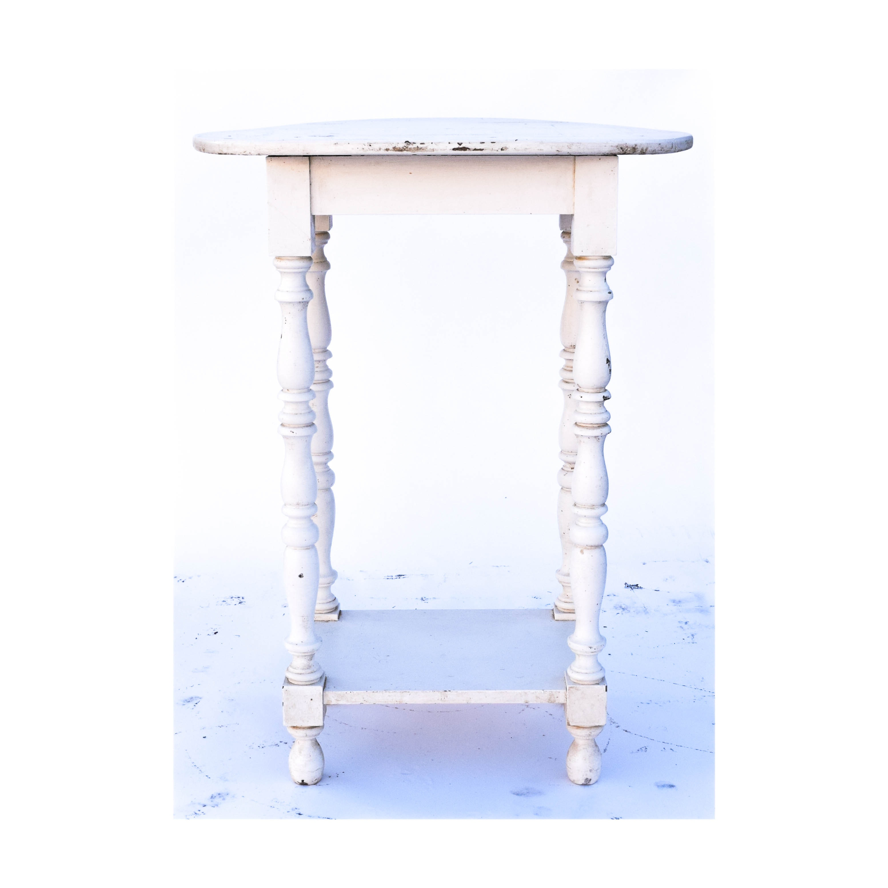 Victorian Style Painted Side Table
