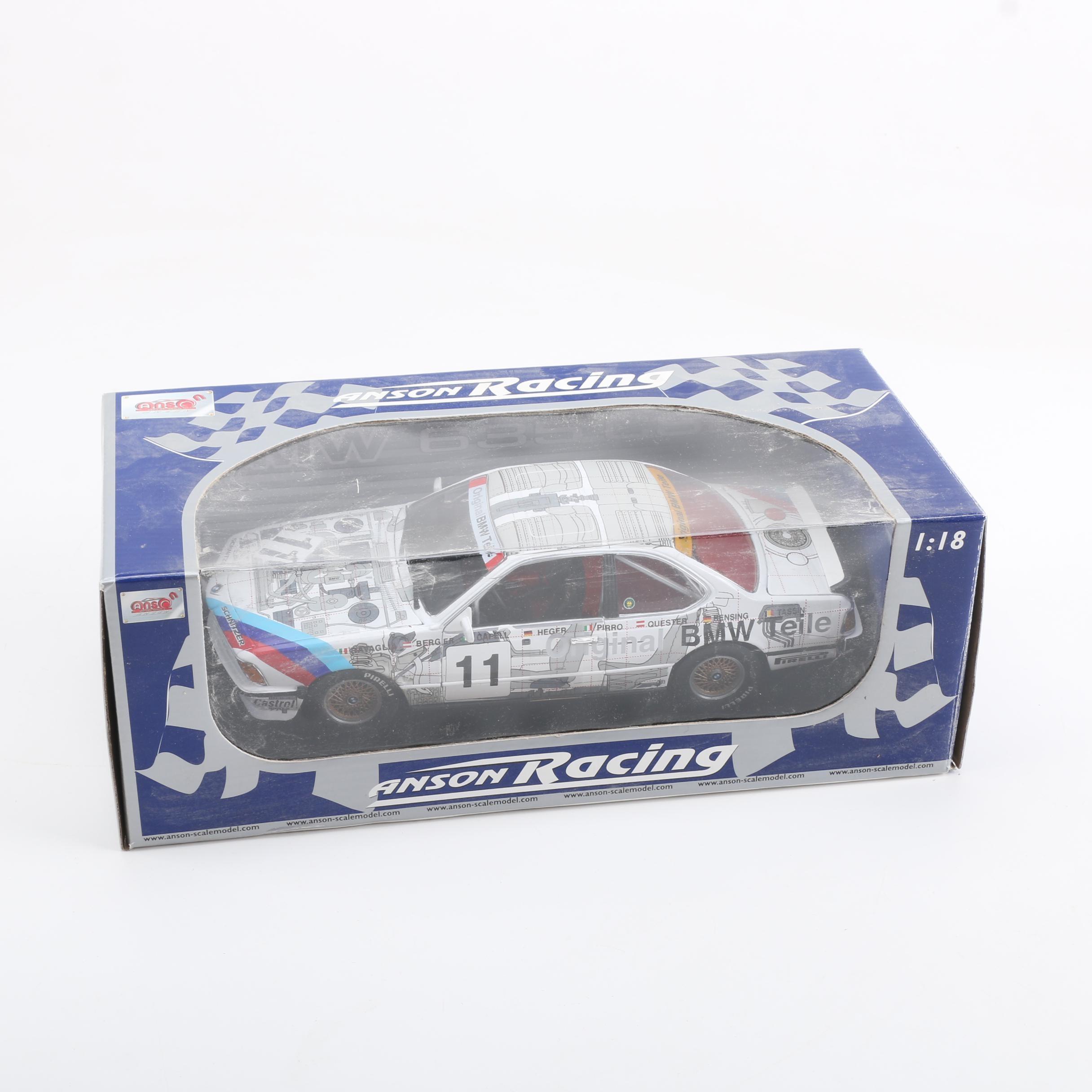 Anson Racing Bmw Die Cast Car Ebth
