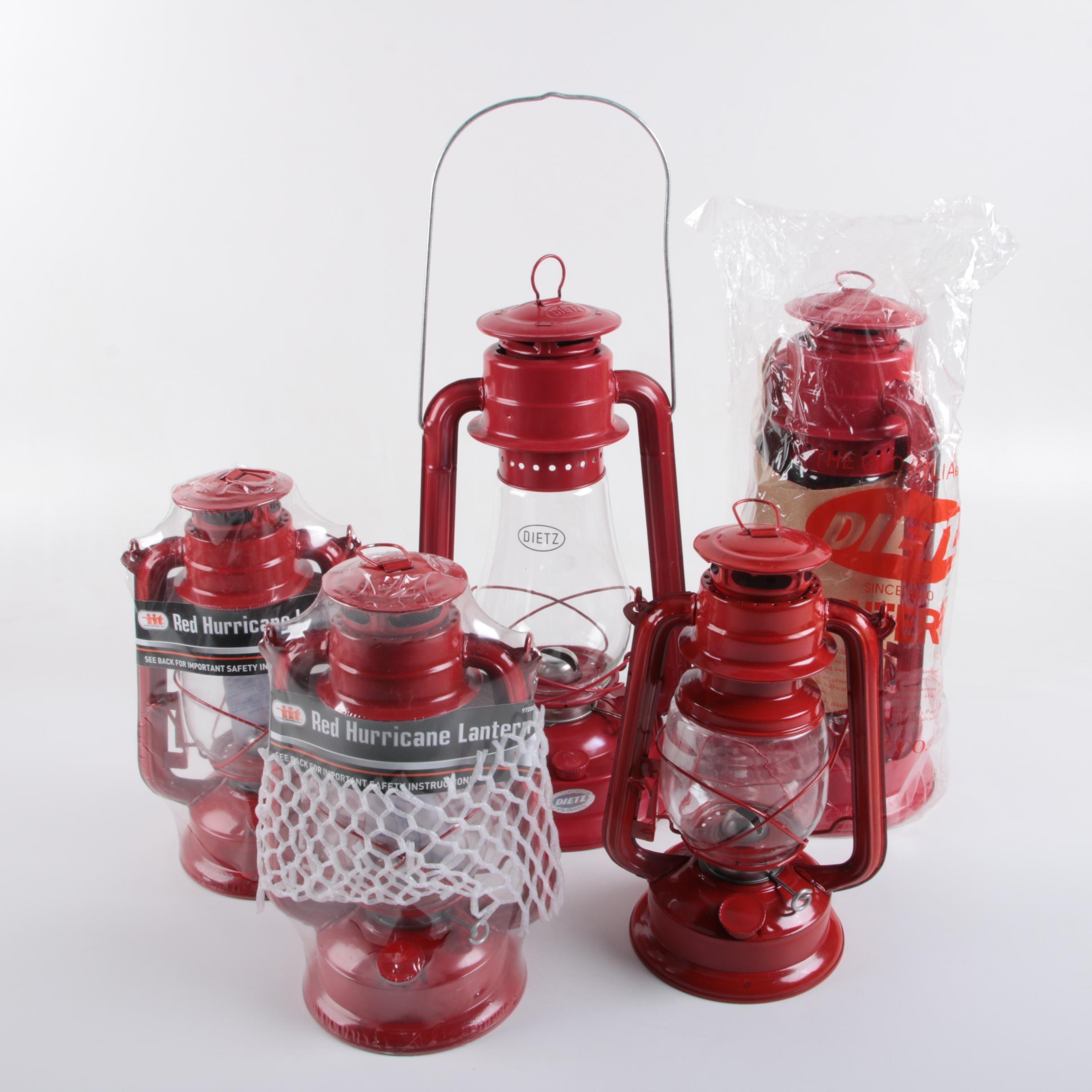 New Red Oil Lanterns Including Dietz Ebth
