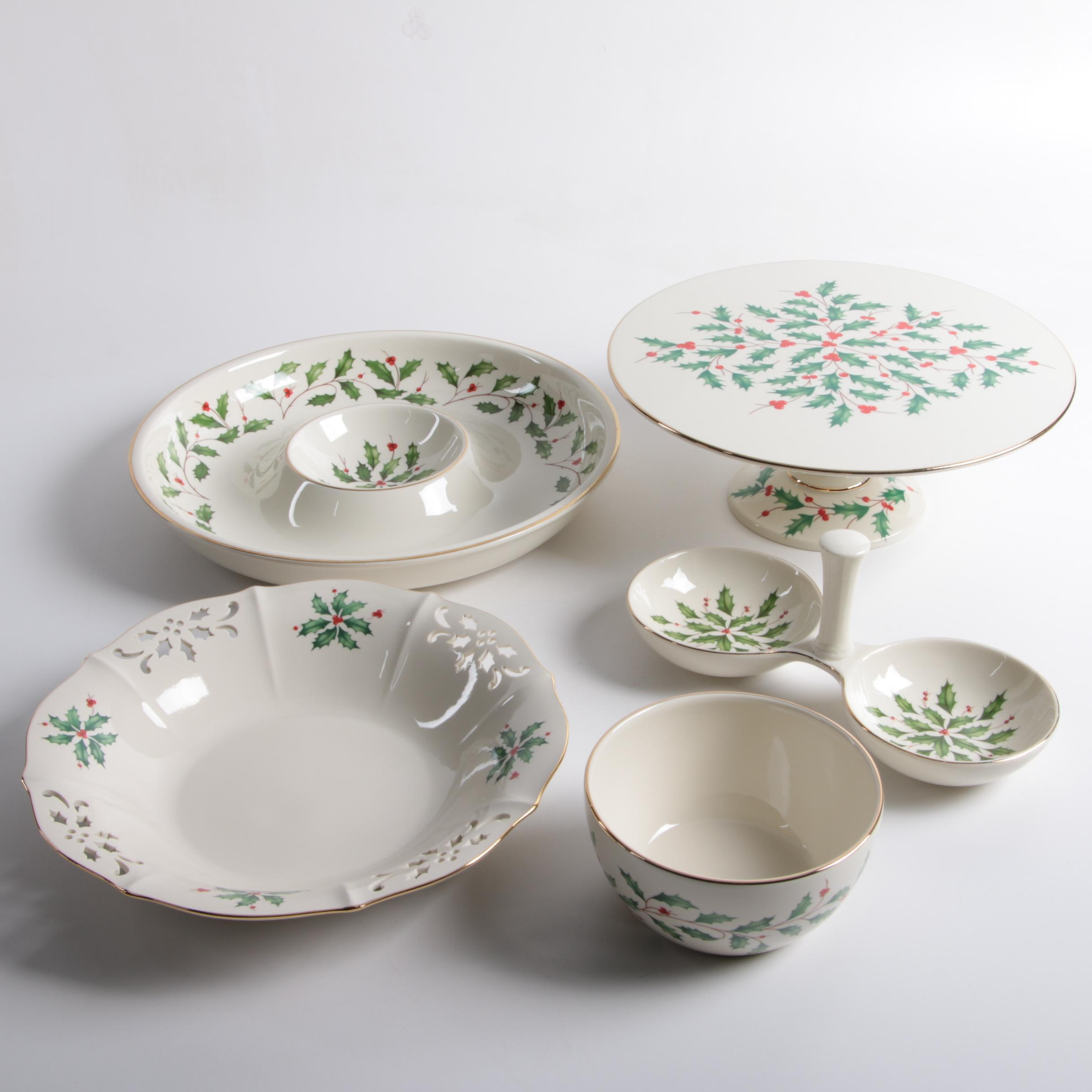 "Lenox ""Holiday"" Tableware"