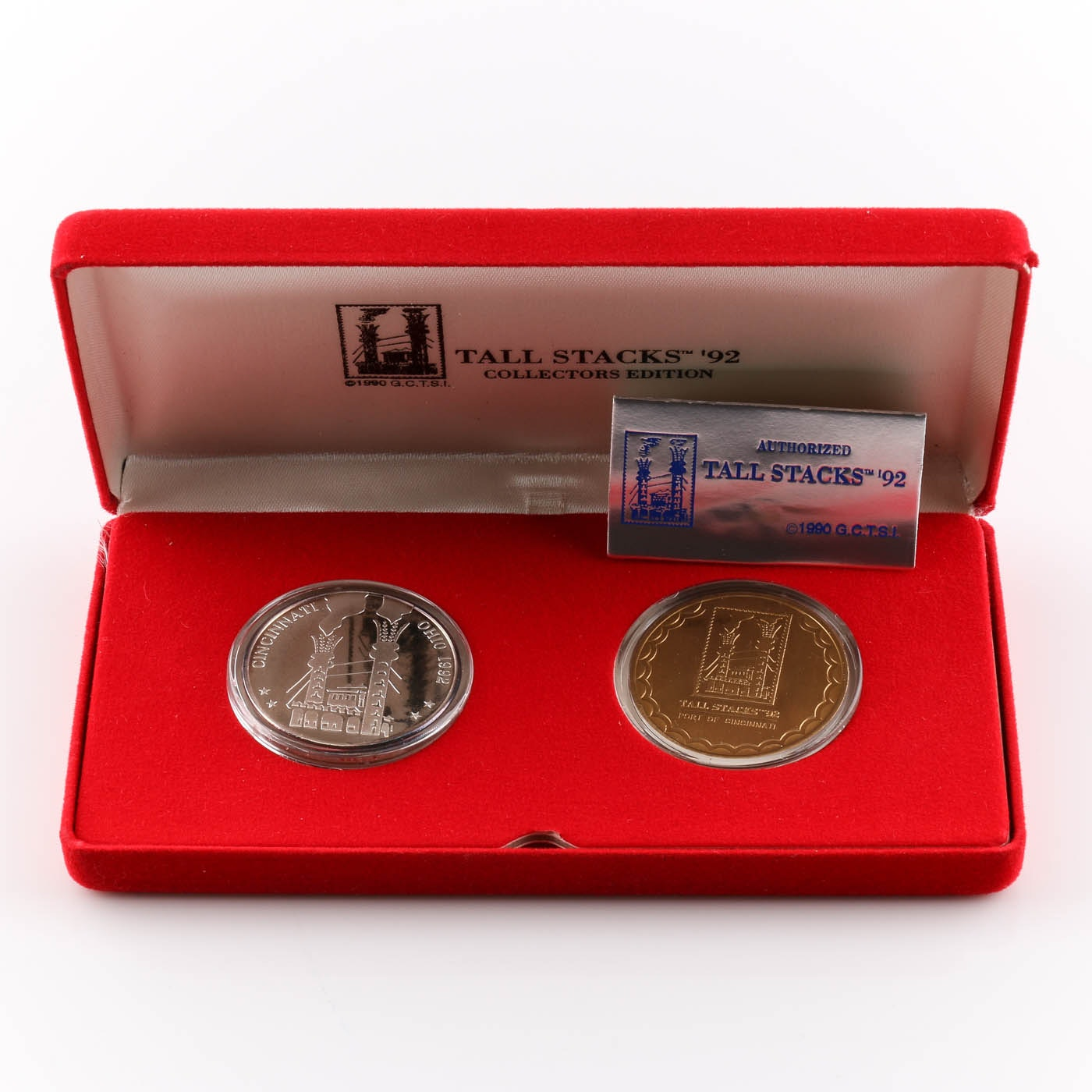 1992 Tall Stacks Collector's Edition Medal Set