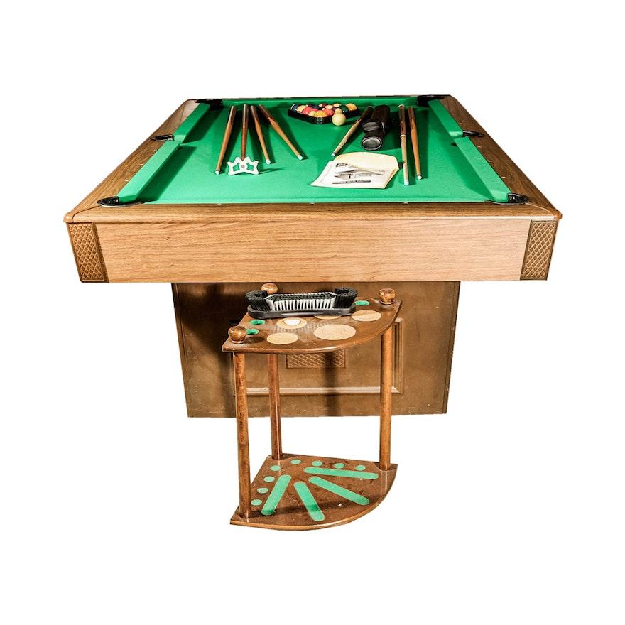 Brunswick Windsor Home Billiards Table EBTH - Brunswick windsor pool table