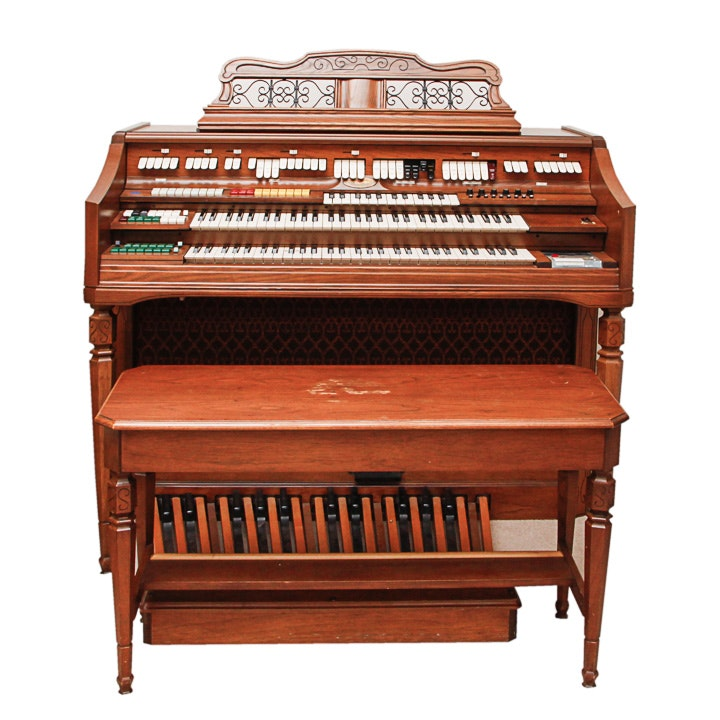 Vintage wurlitzer 4573 organ with orbit iii synthesizer for Classic house organ bass
