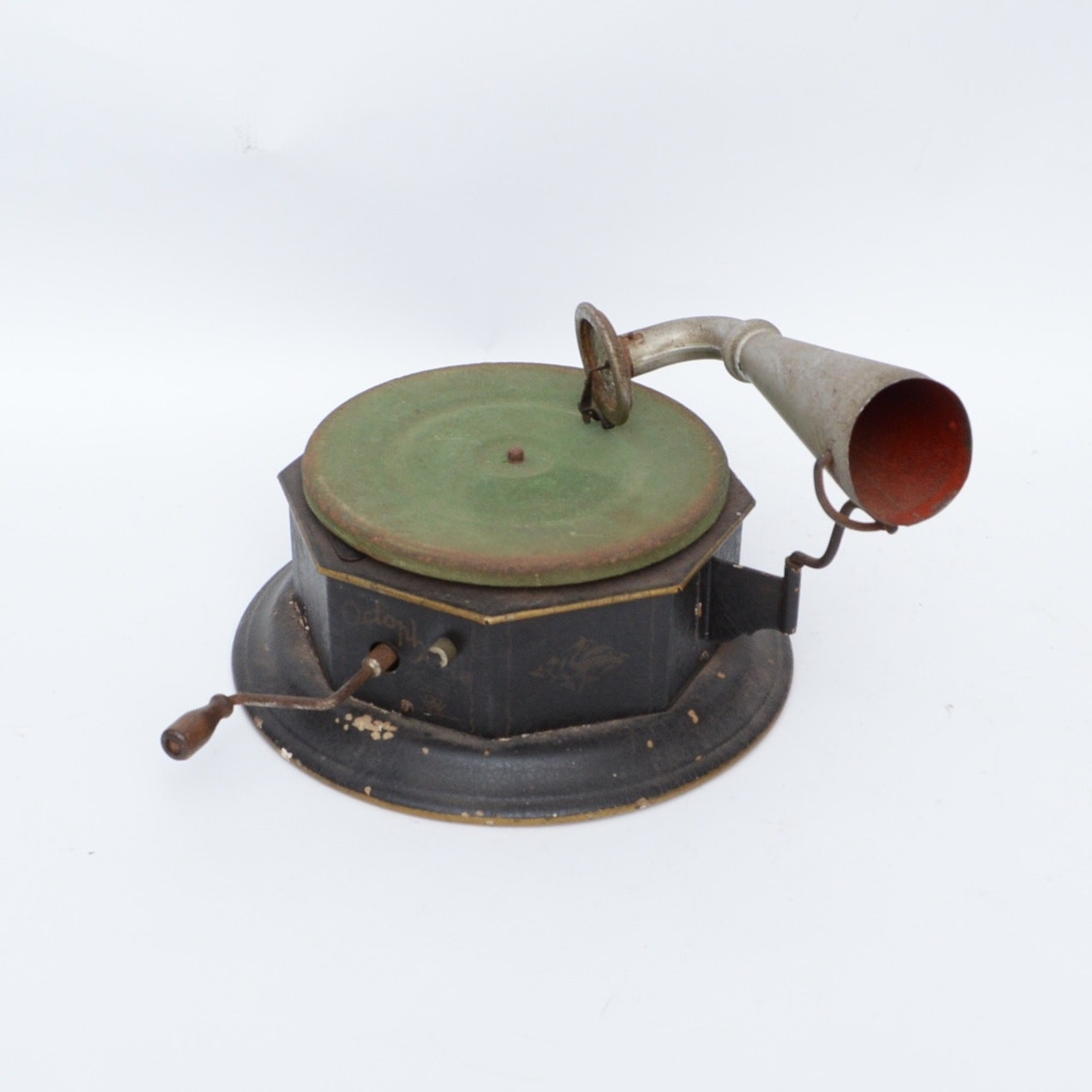 19th Century German Toy Octophone/Phonograph
