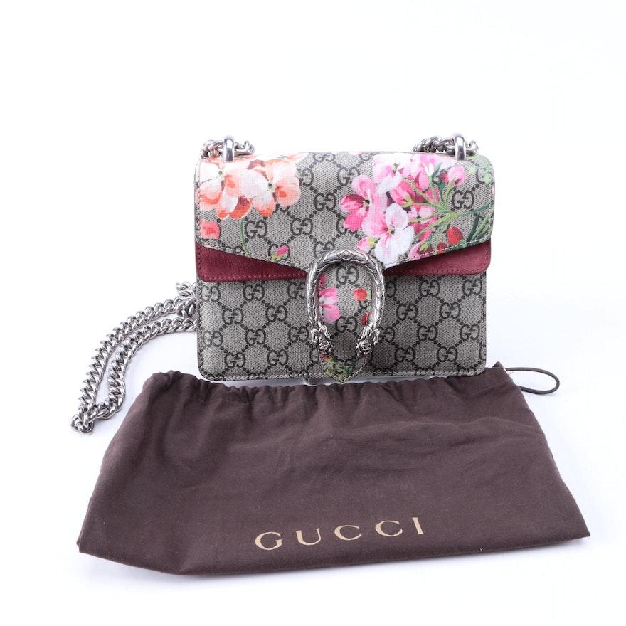 d5b7ebd08ae5a Gucci Dionysus GG Blooms Mini Bag   EBTH
