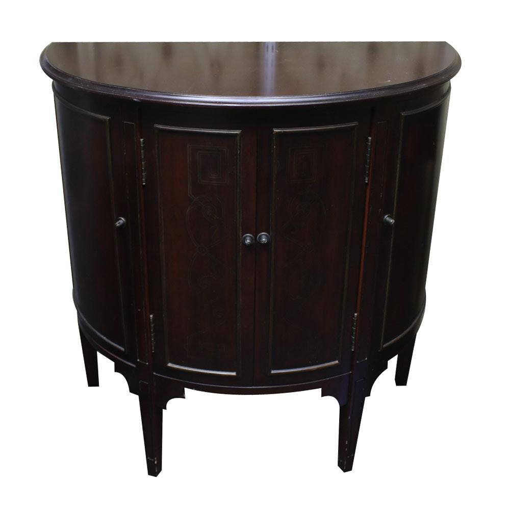 Demi-Lune Wine Storage Cabinet
