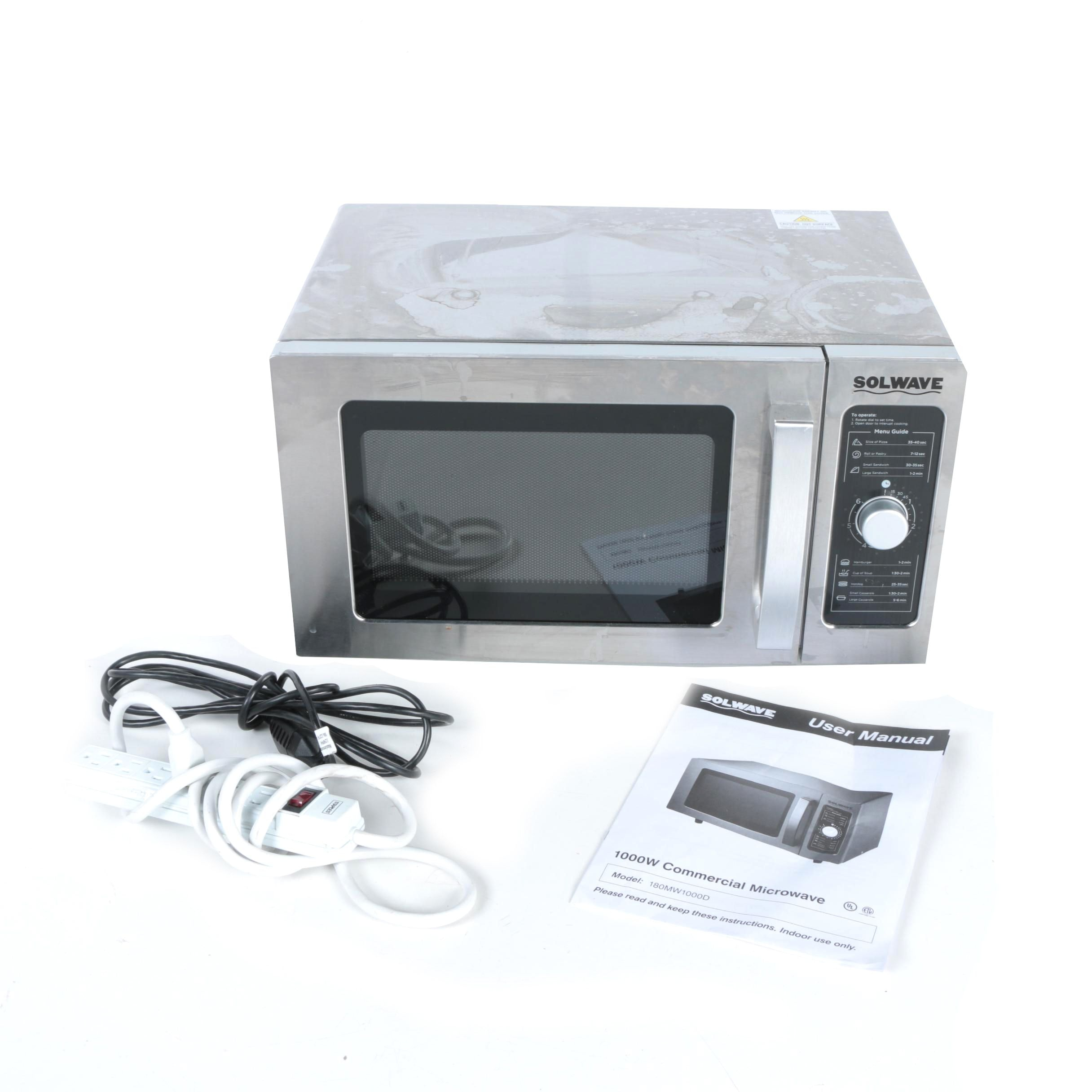 Solwave 1000W Commercial Microwave