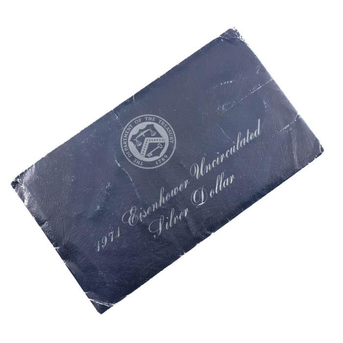 Uncirculated 1971 S Eisenhower Silver Dollar