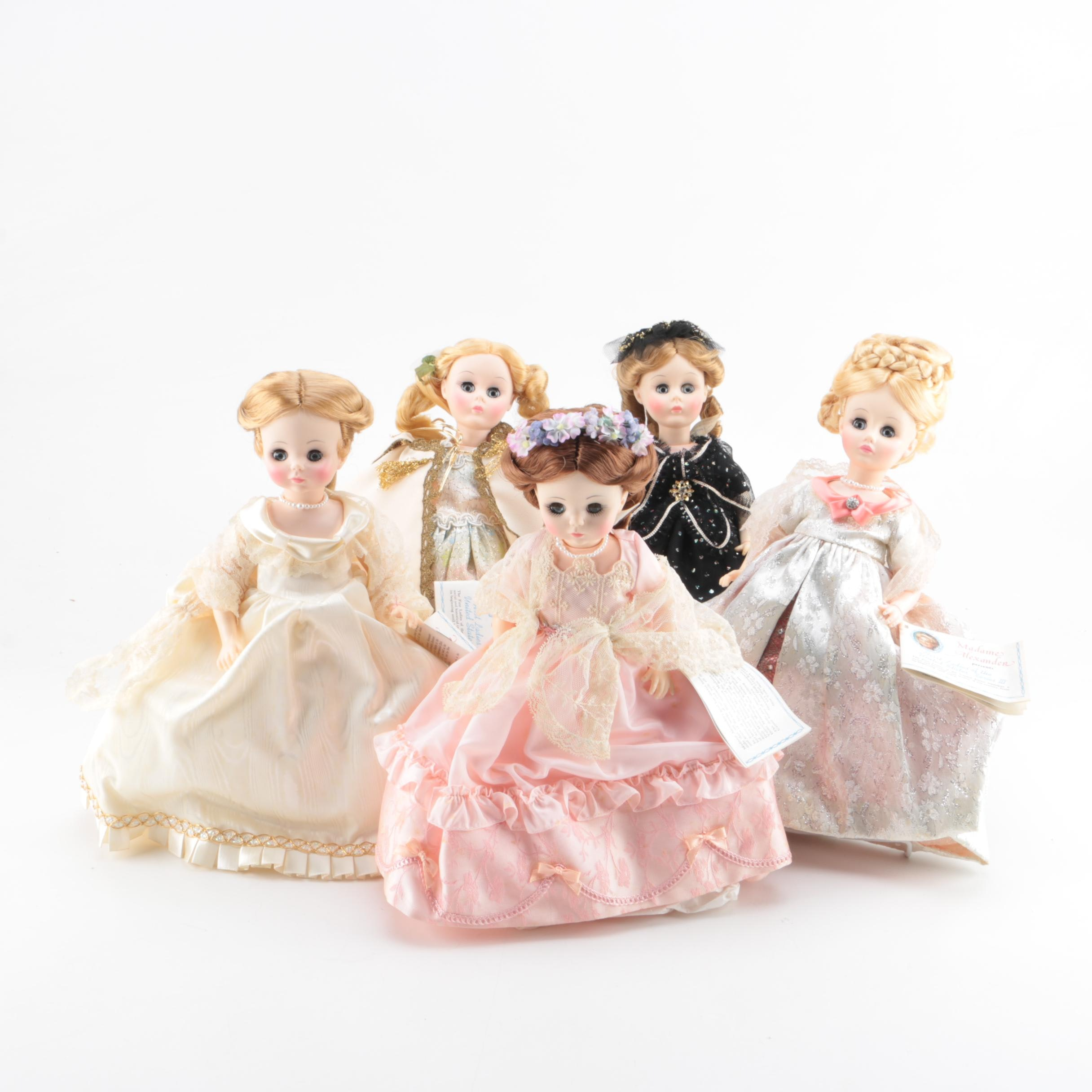 """""""First Ladies of the United States"""" Madame Alexander Dolls"""
