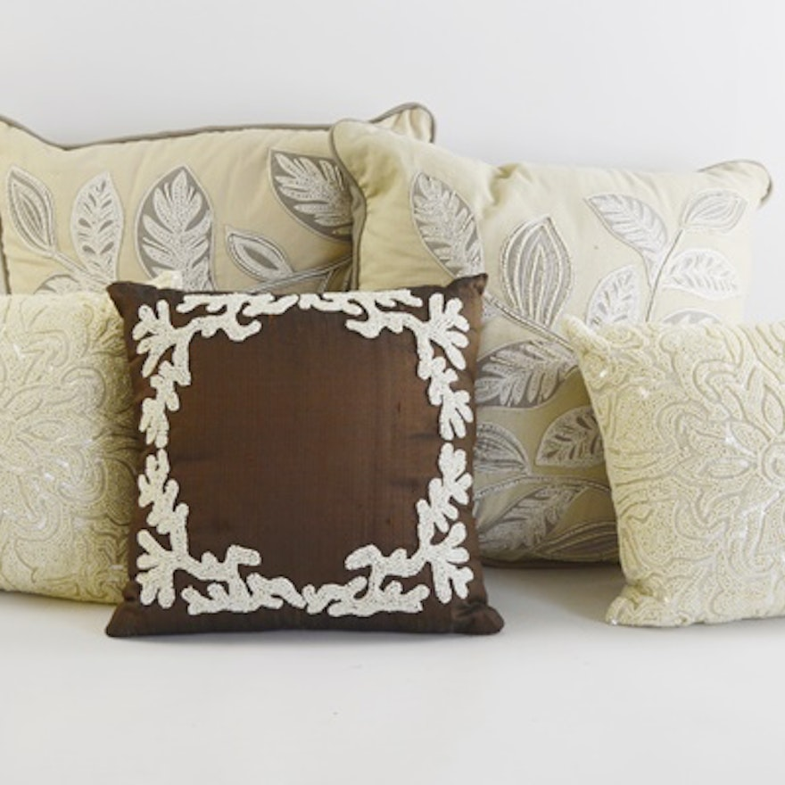 Pier 40 Imports And Other Accent Pillows EBTH Delectable Pier One Imports Decorative Pillows