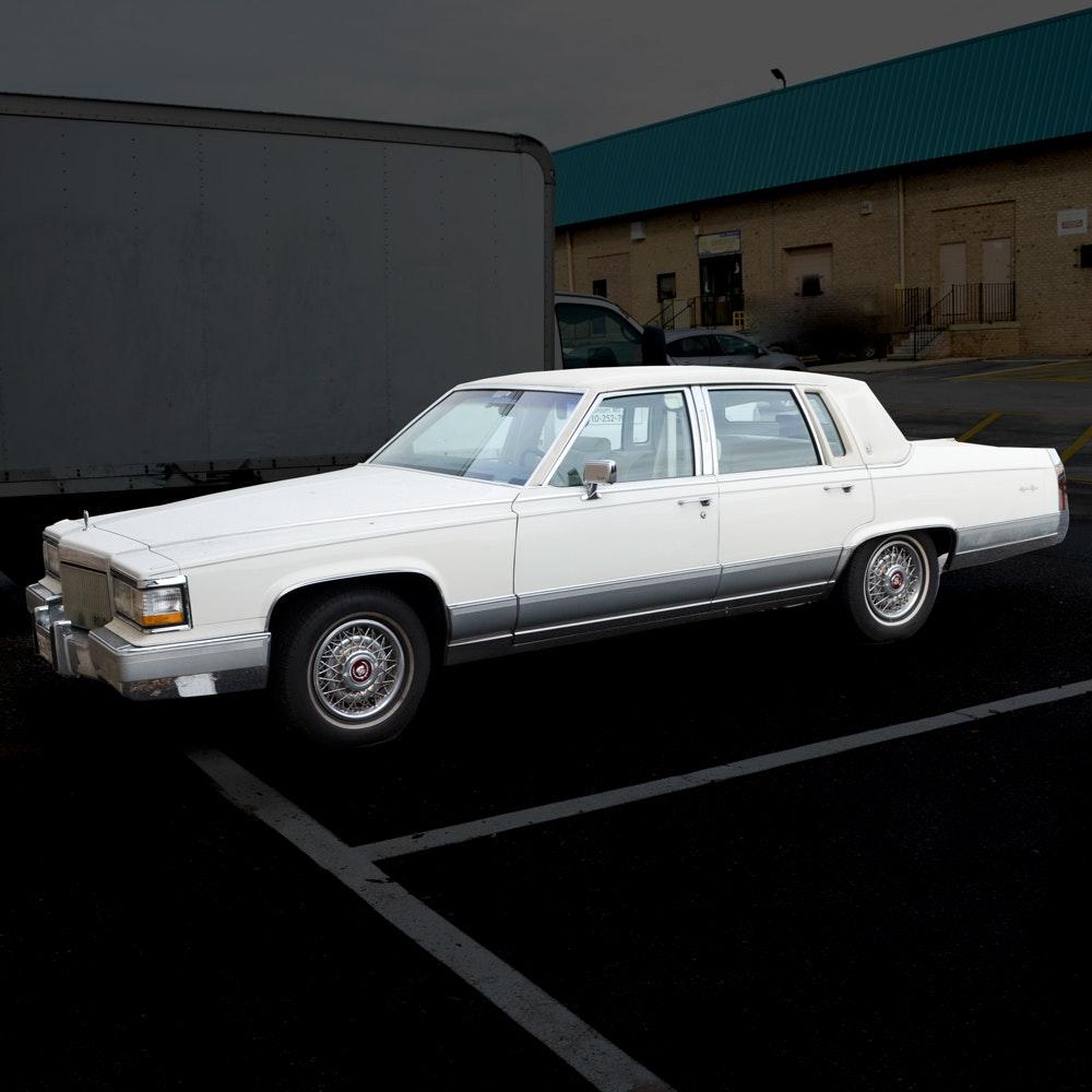 1990 Cadillac Brougham d' Elegance Sedan