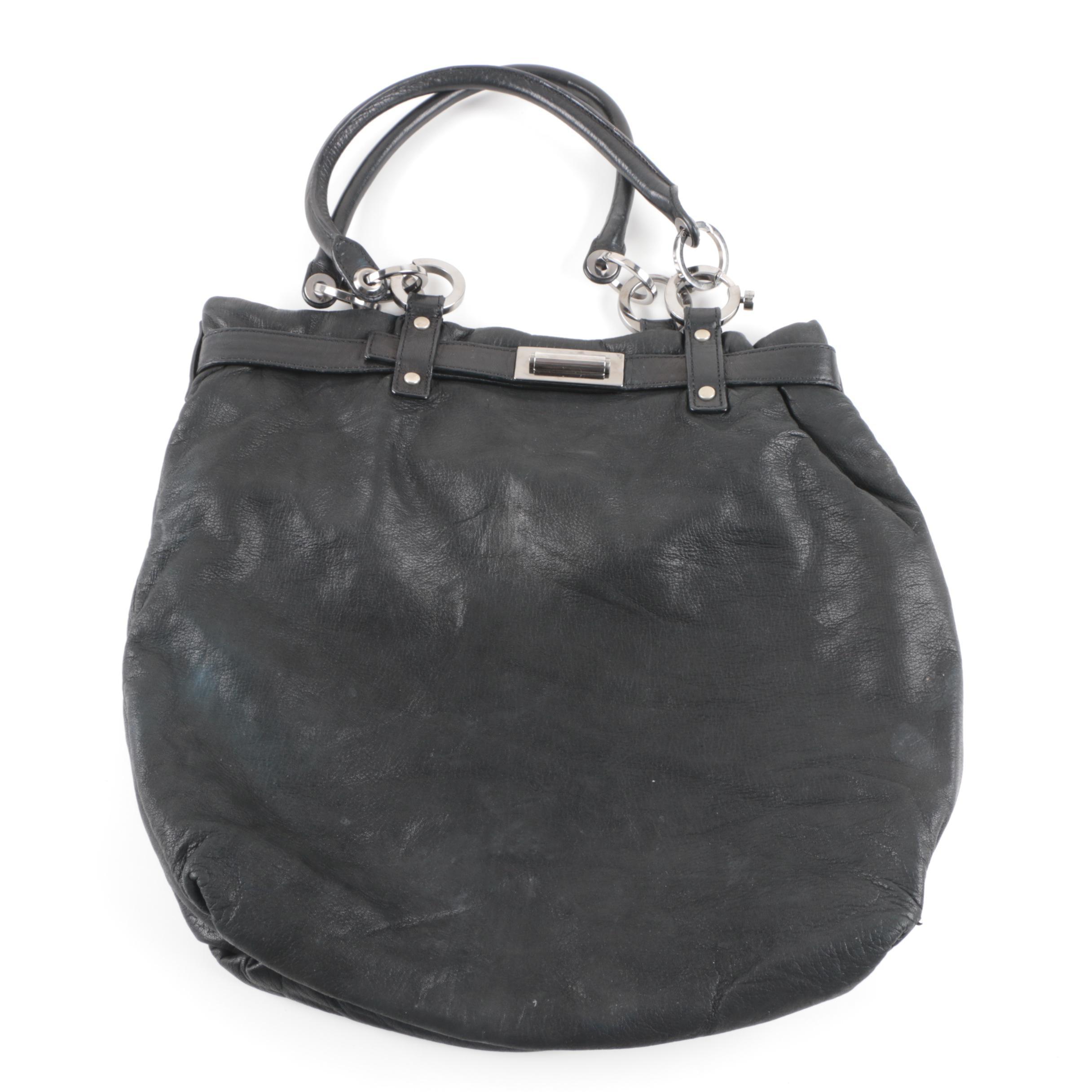 Lanvin Black Lambskin Handbag